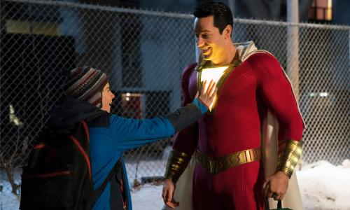 Shazam! review – kid-friendly DC adventure is enjoyably old school