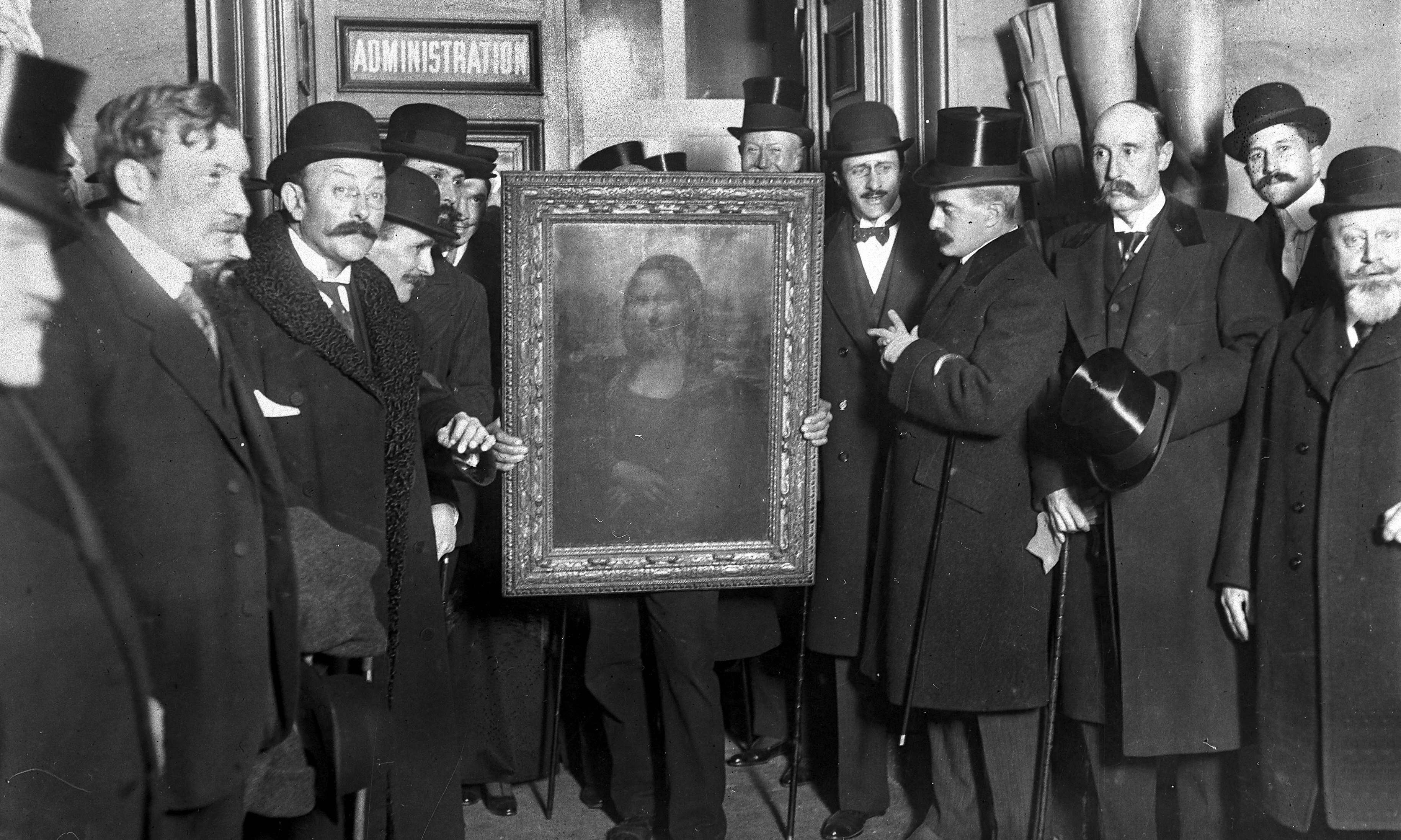 Archive, 23 August 1911: Mona Lisa stolen from Louvre