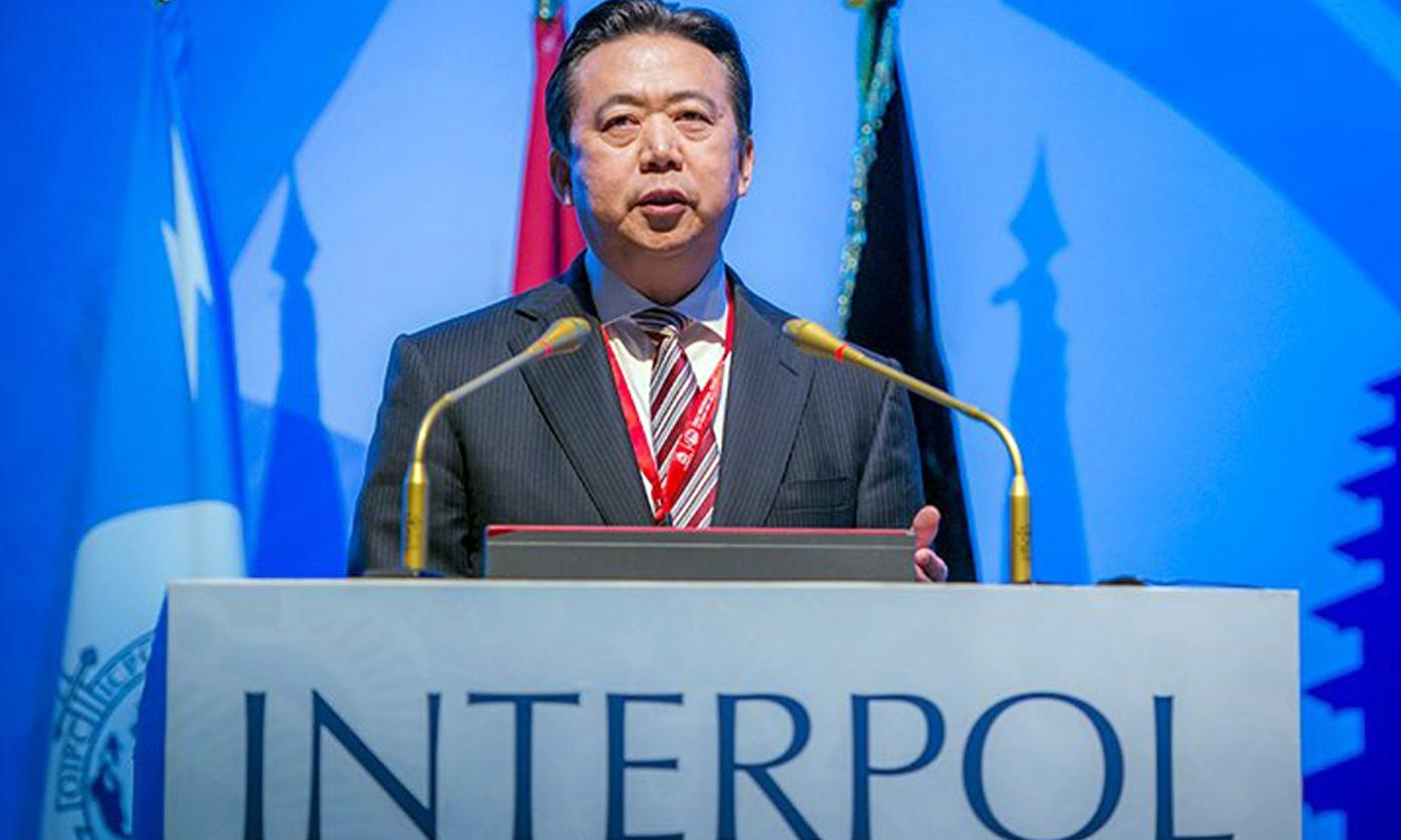 Interpol says no option but to accept China's removal of its chief