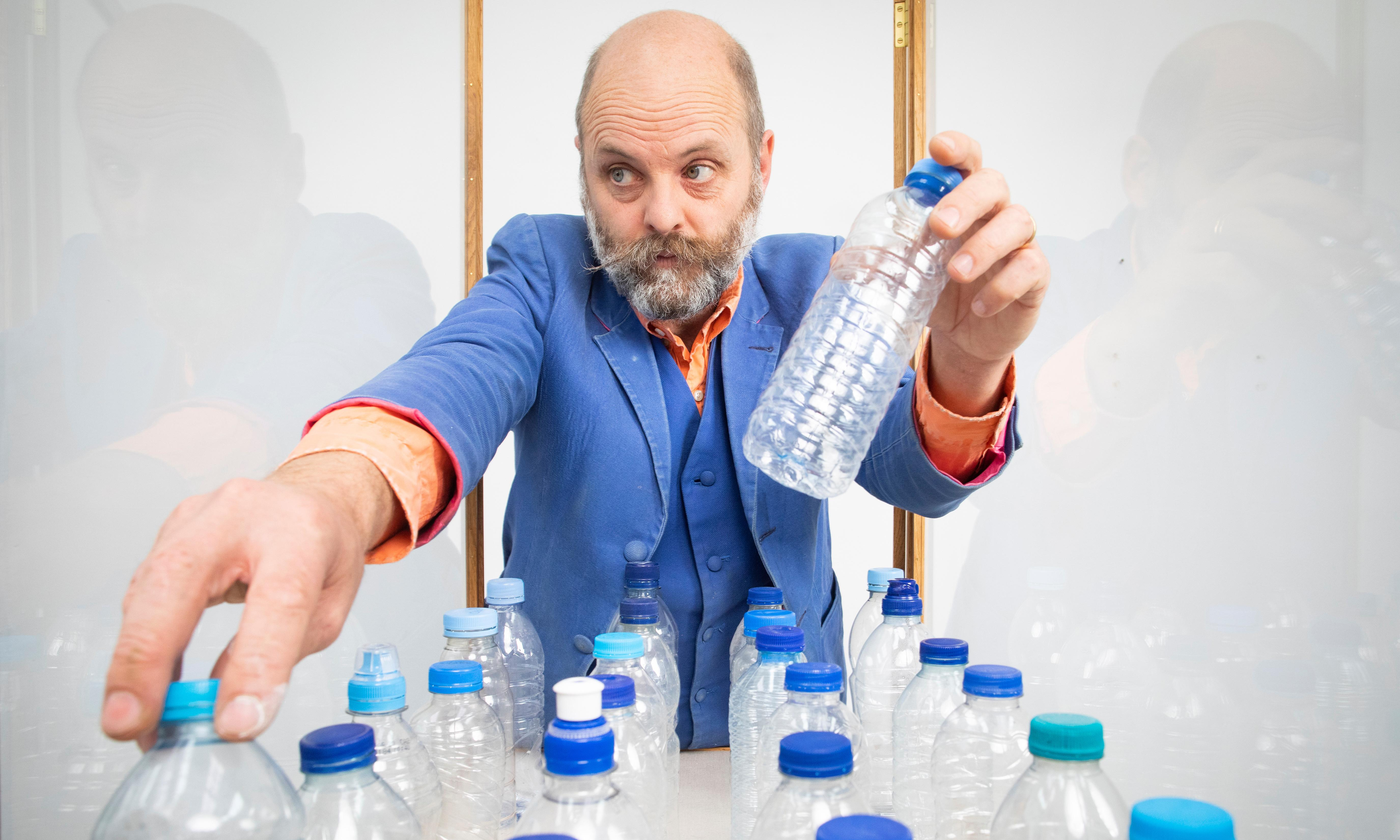 Gavin Turk: art's king of trash on plastic, protest, prison and canning his pee