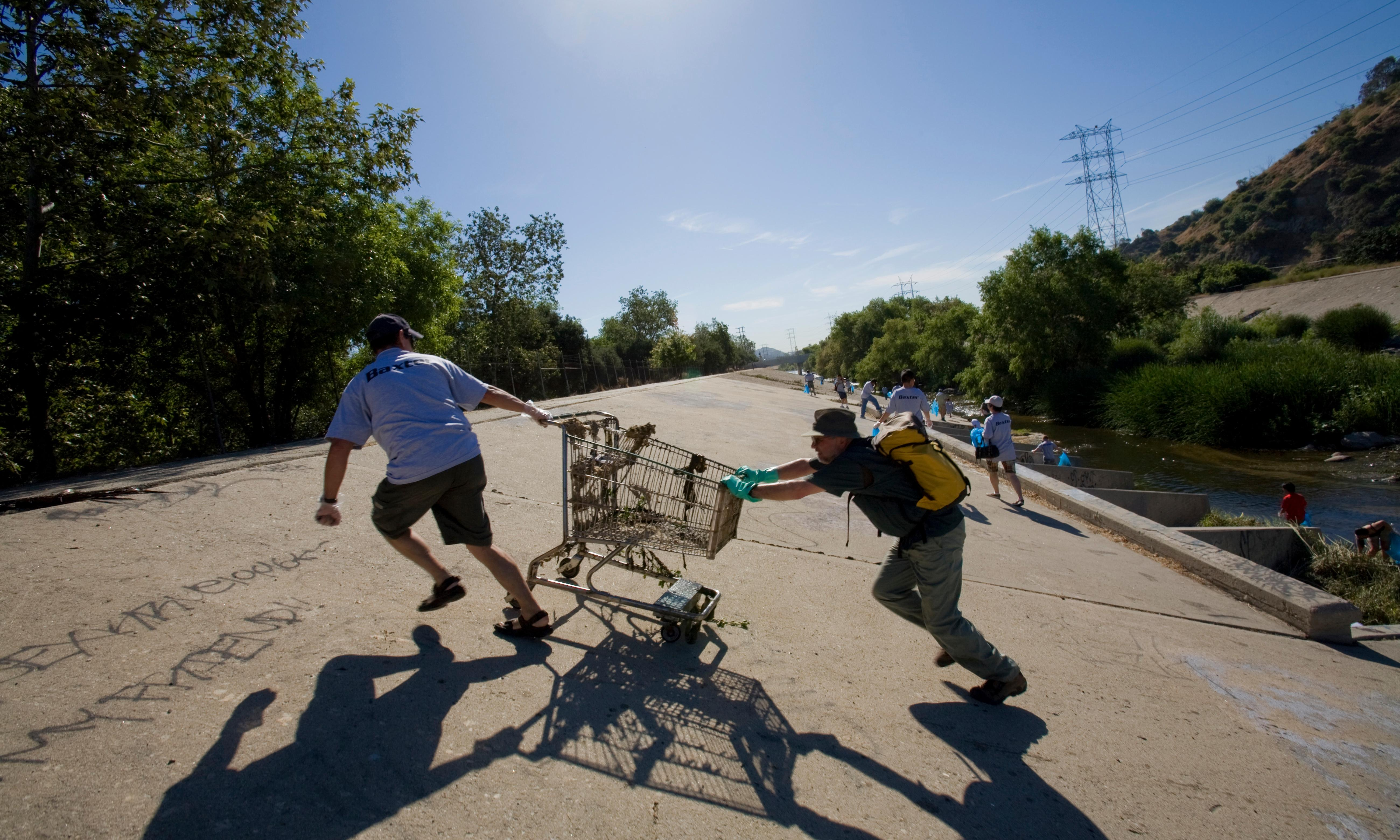 'Work or go to jail': how LA courts force thousands to do unpaid labor