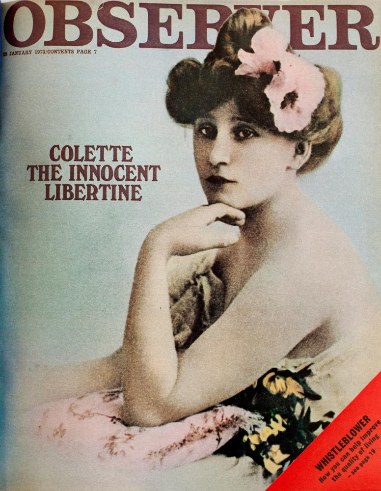 Cover featuring a pic of Colette