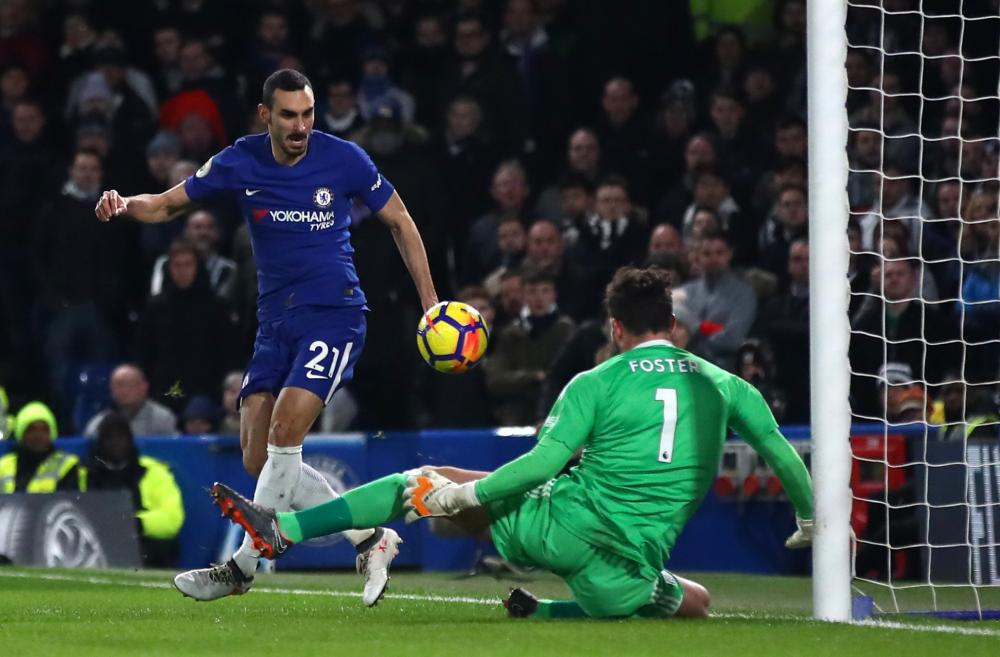 Smart save by Ben Foster from Davide Zappacosta.