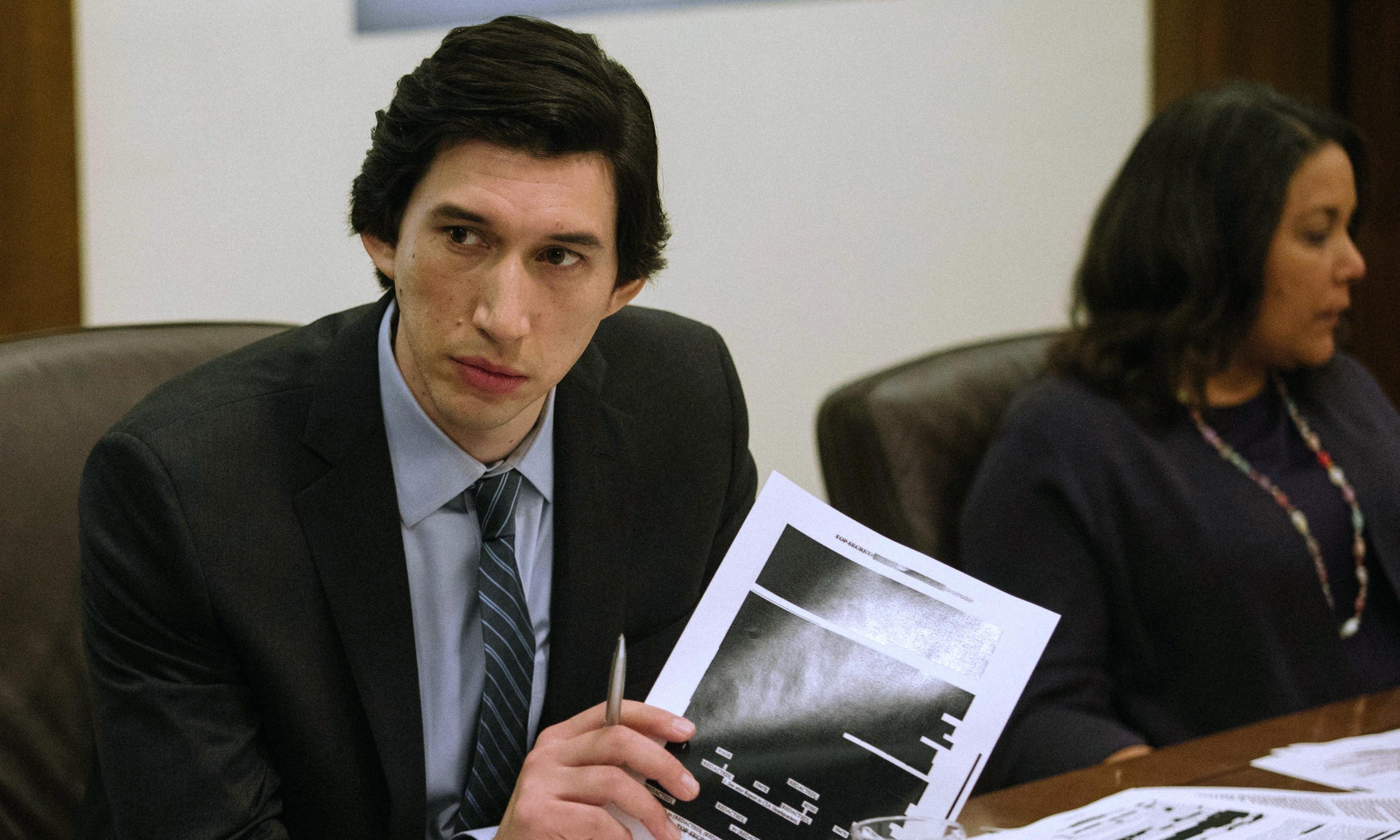The Report review – Adam Driver's battle to expose CIA torture