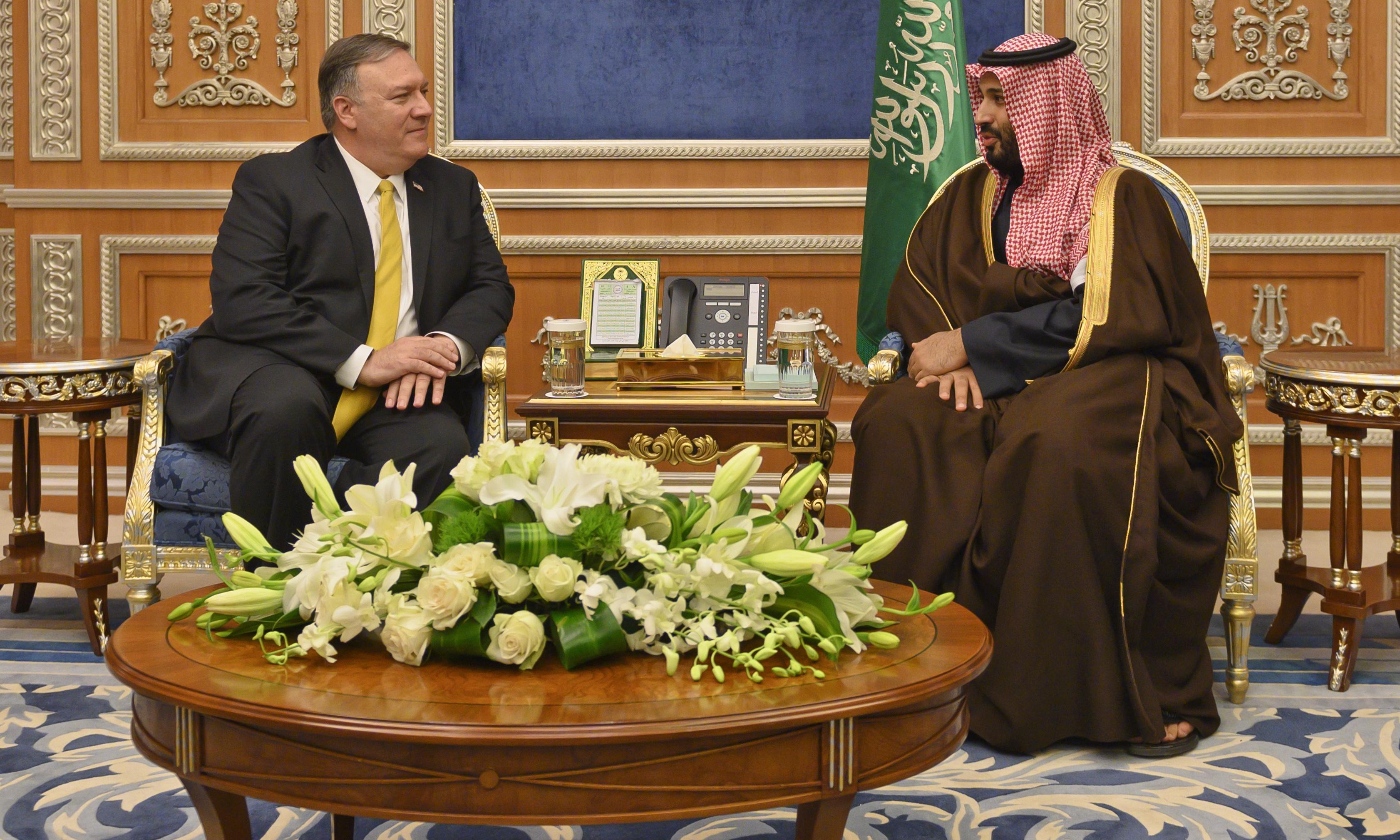 US urges Saudi prince to ditch aide linked to Khashoggi killing