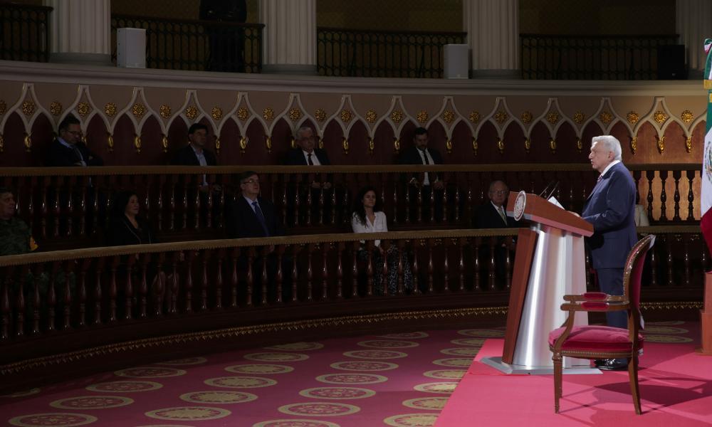 Andres Manuel Lopez Obrador in Mexico City last week.