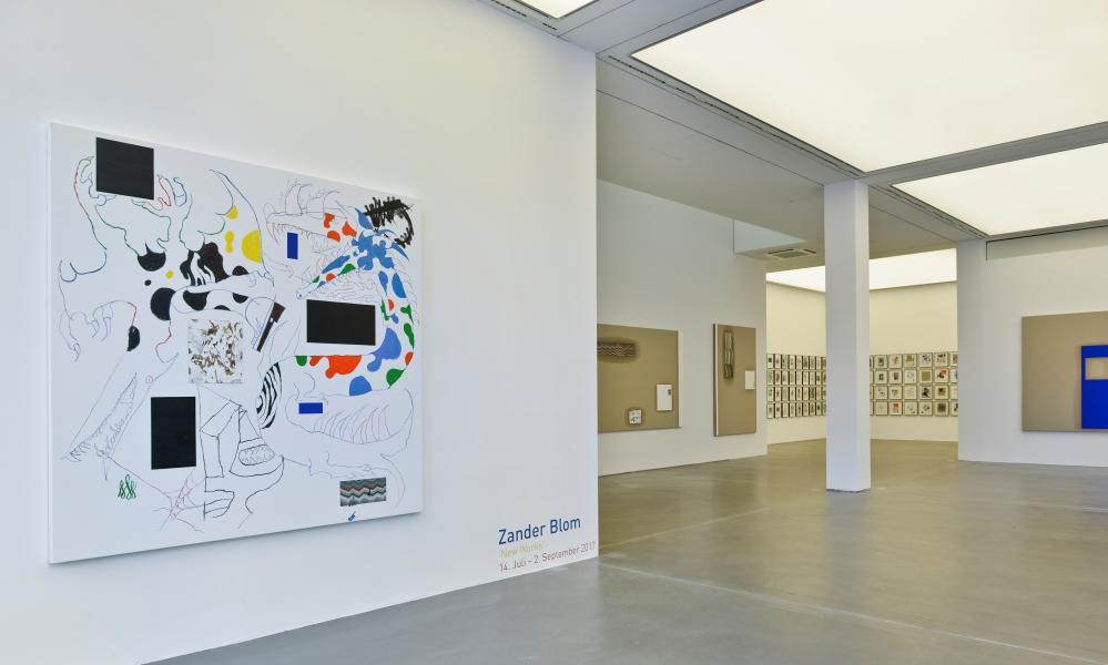 Zander Blom 2017, Galerie Hans Mayer, Dusseldorf, Germany