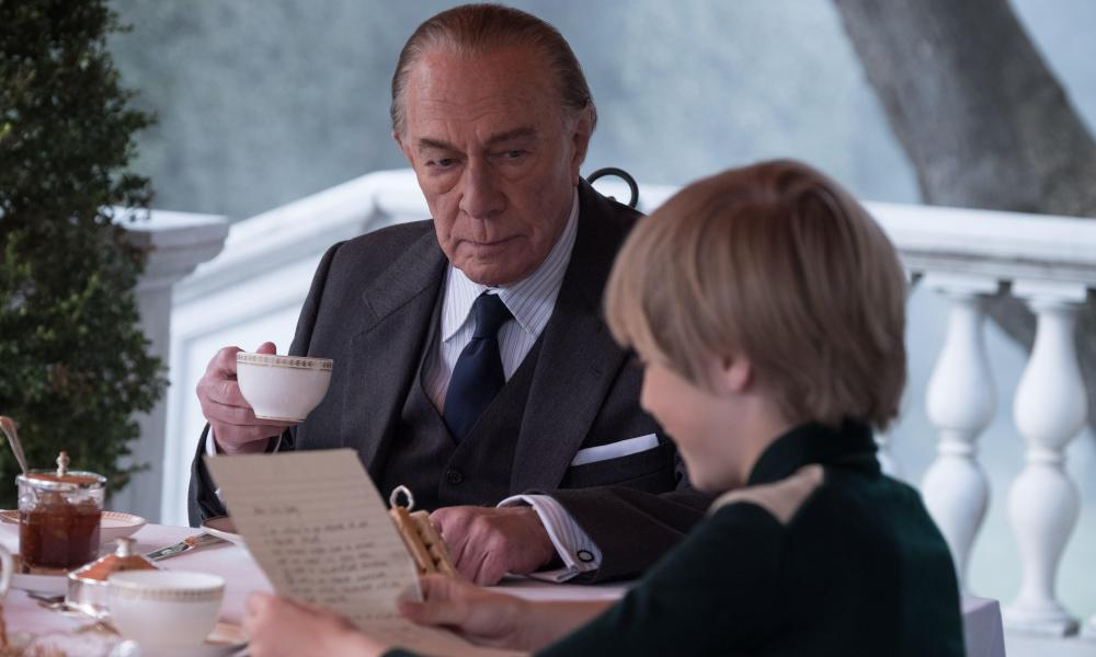 'Glittery-eyed grandfatherly mischief' ... Christopher Plummer in All the Money in the World.