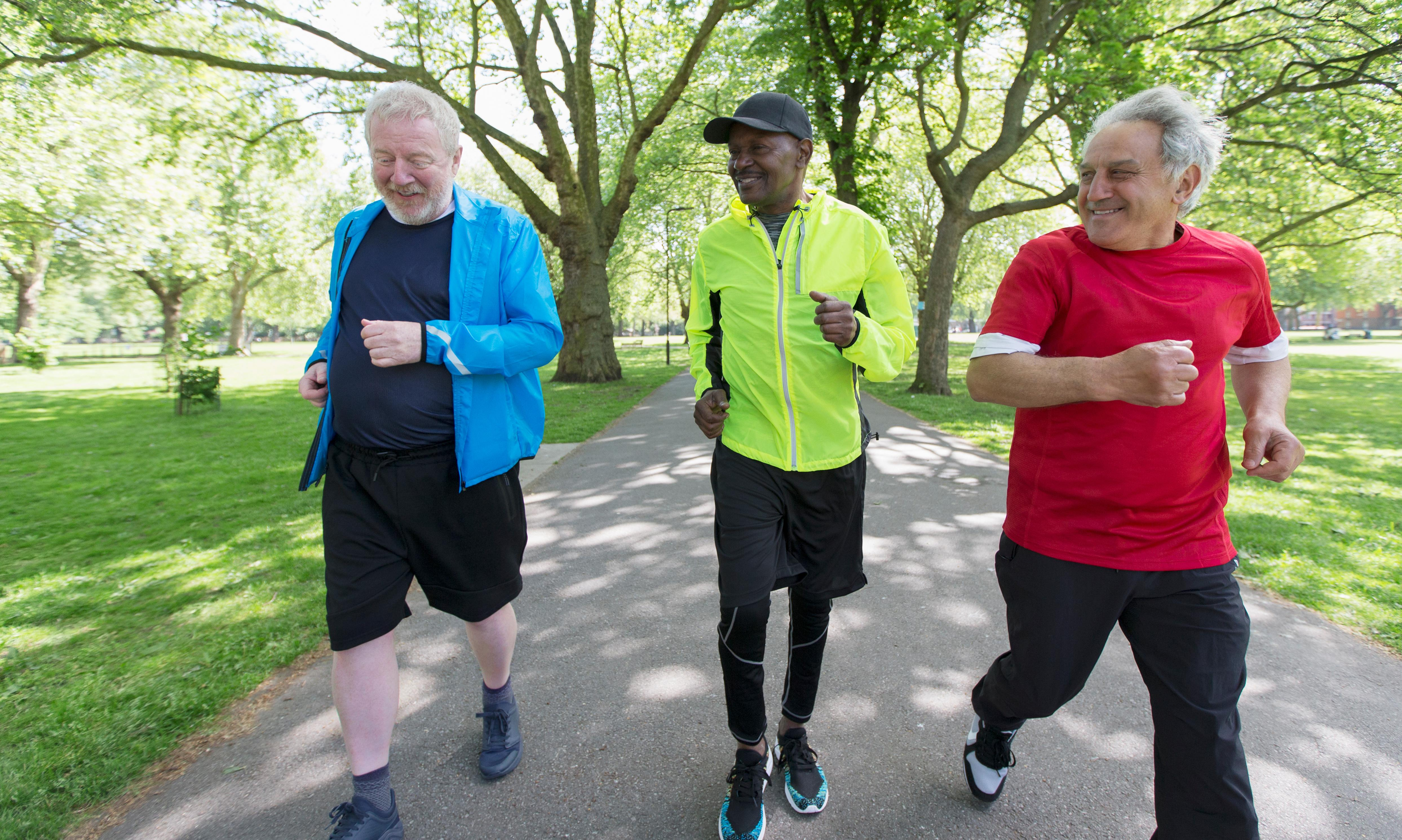'If you can run, you can do anything': why over 65s are at park