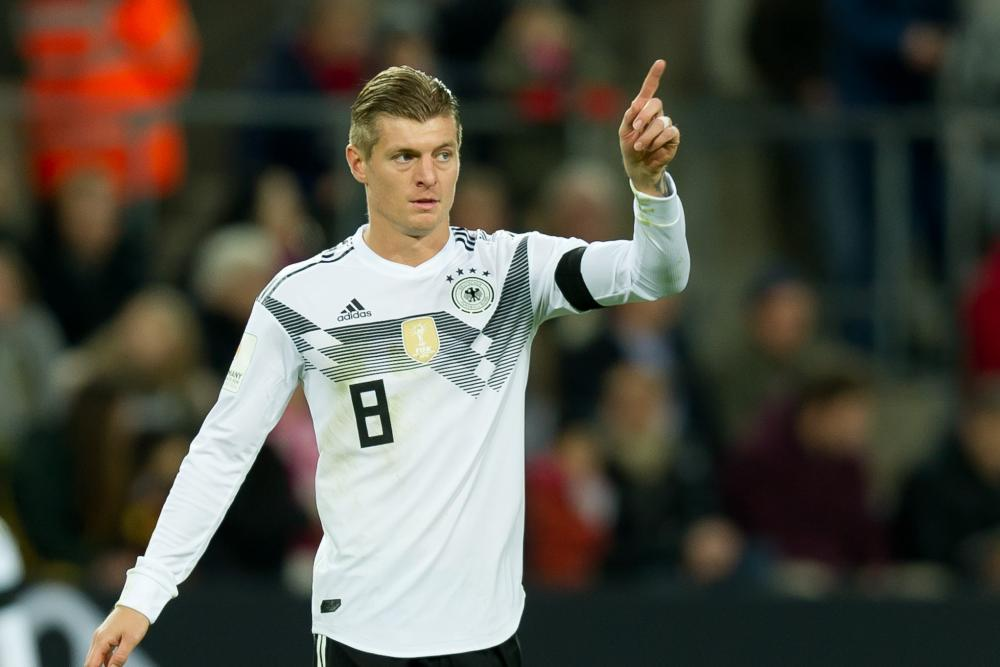 Toni Kroos has become the heartbeat of the world champions Germany.