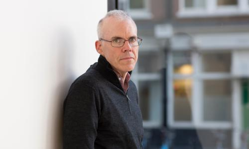 NOV 2014  - LONDON: Bill McKibben, climate activist. Photograph by Graeme Robertson