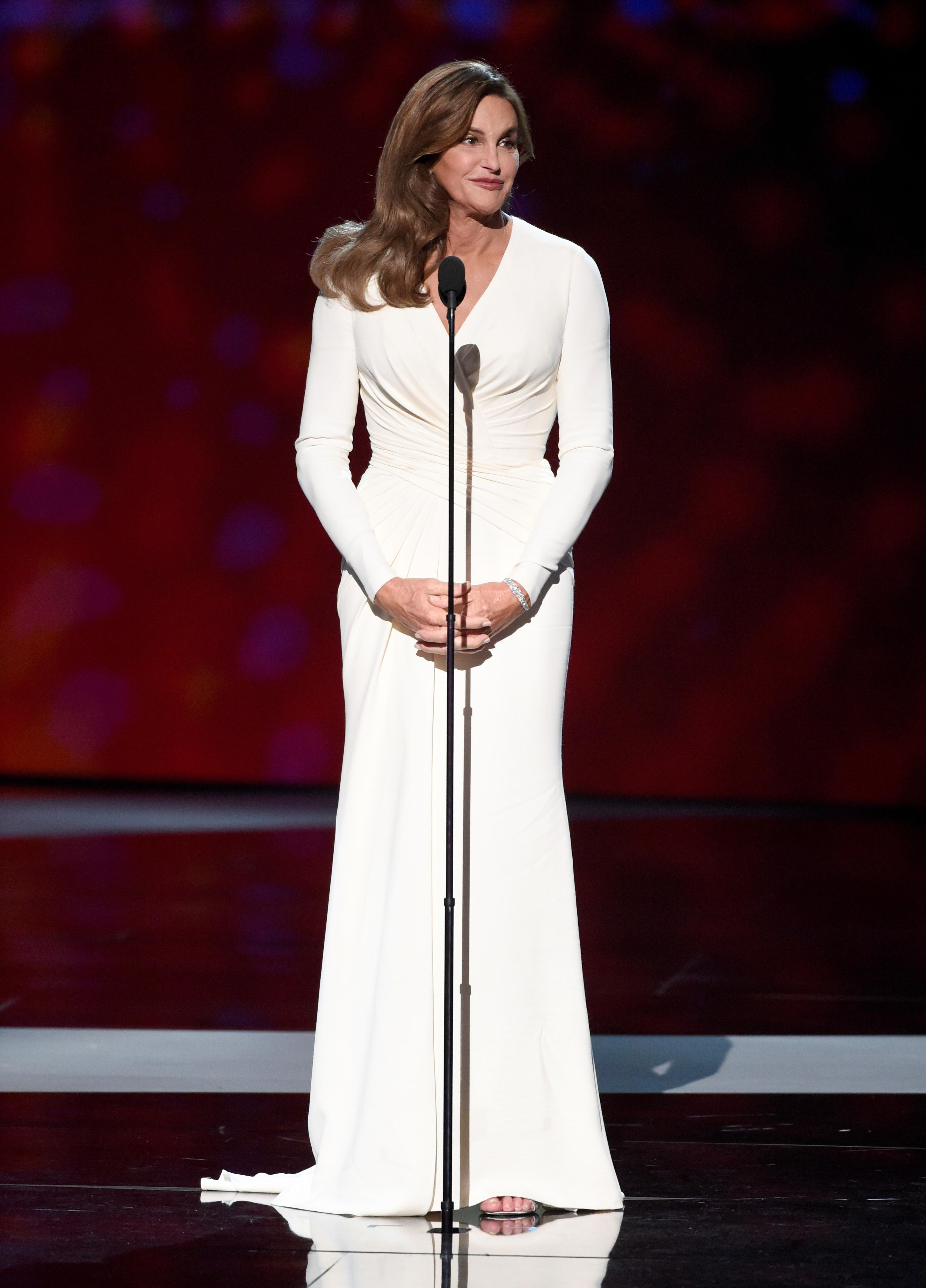 Caitlyn Jenner: 'It was tough wearing a bustier for Vanity Fair'