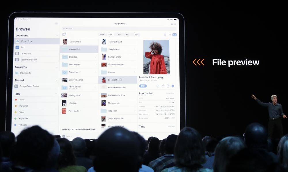 Apple is making the iPad more like a traditional computer with more advanced file management and a desktop-class browser.
