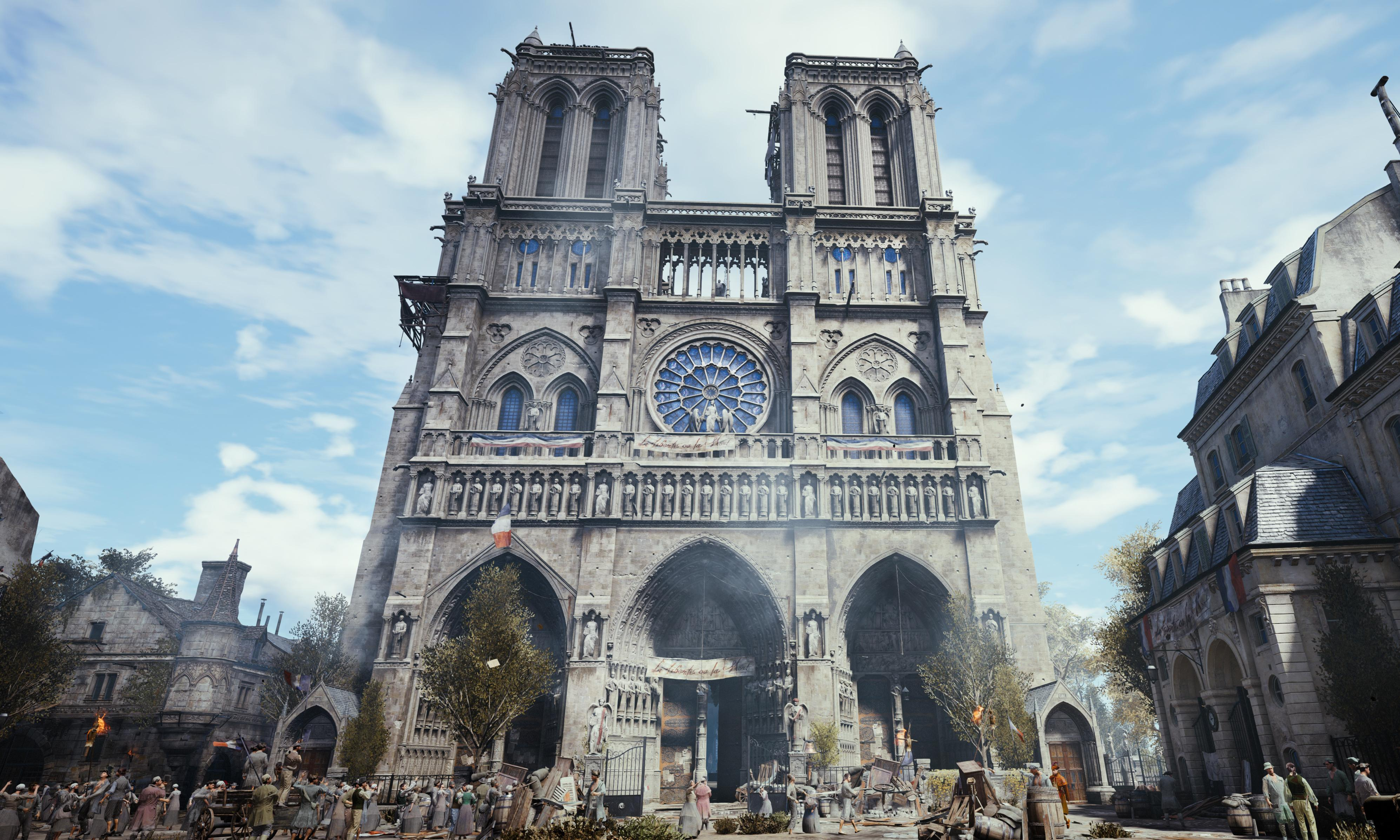 Assassin's Creed creators pledge €500,000 to Notre Dame