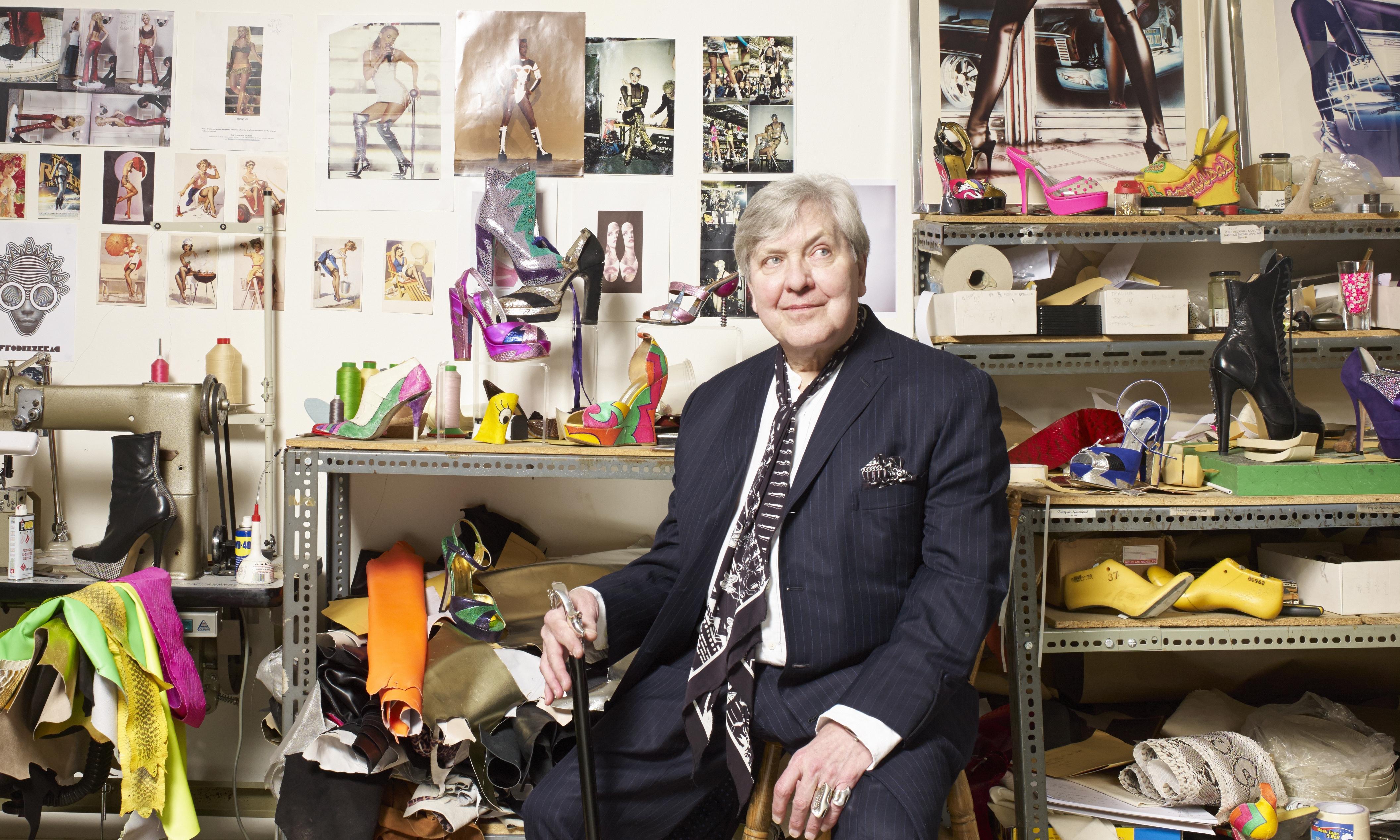 Terry de Havilland, the 'rock'n'roll cobbler', dies aged 81