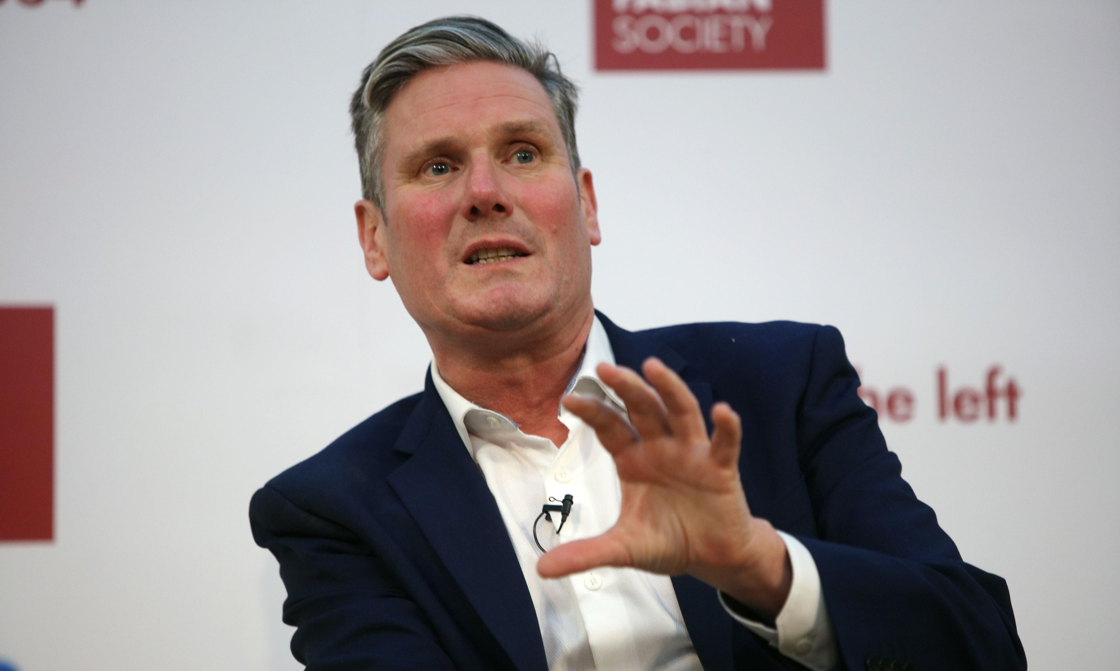 Labour leadership: Keir Starmer wins backing of second trade union