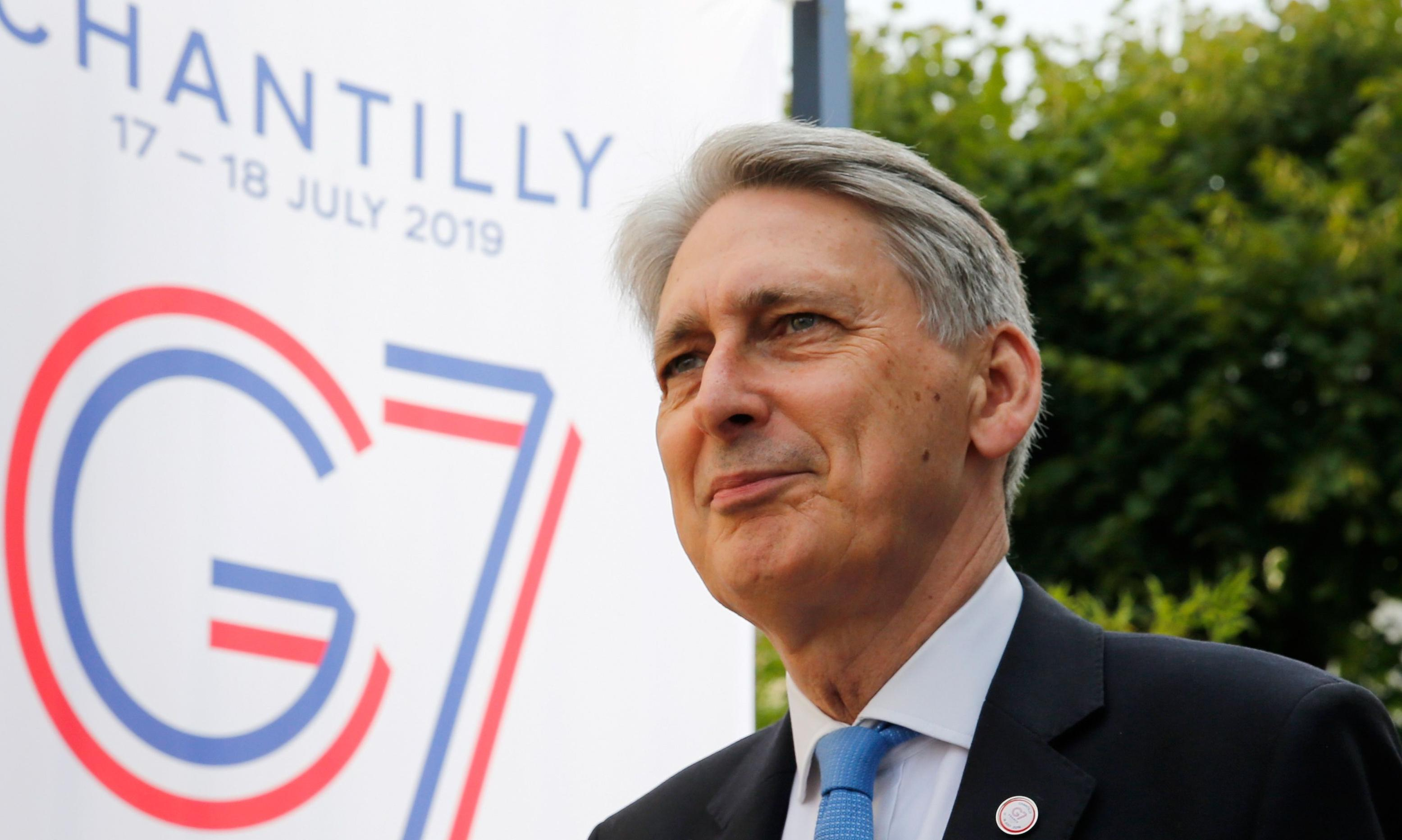 Philip Hammond signals he could vote to bring down Boris Johnson