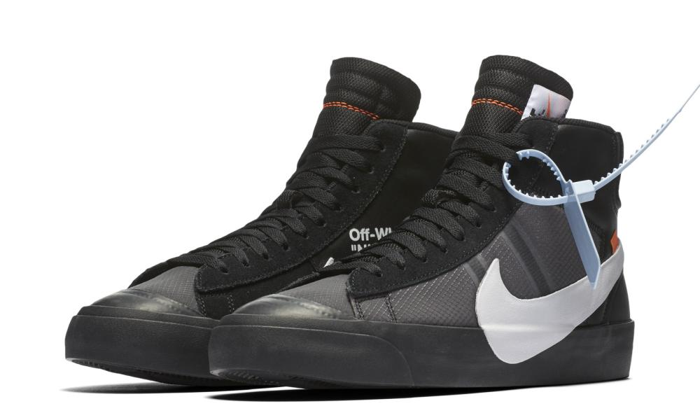 It's gotta be the shoes: Virgil Abloh's Off-White for Nike.