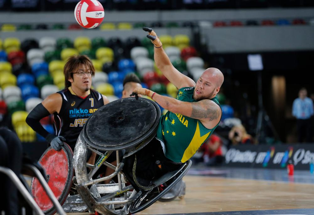 essay about murderball Even the boldest of viewers would agree that murderball is an extremely powerful film the reactions and feelings expressed by the athletes are raw and explicit.