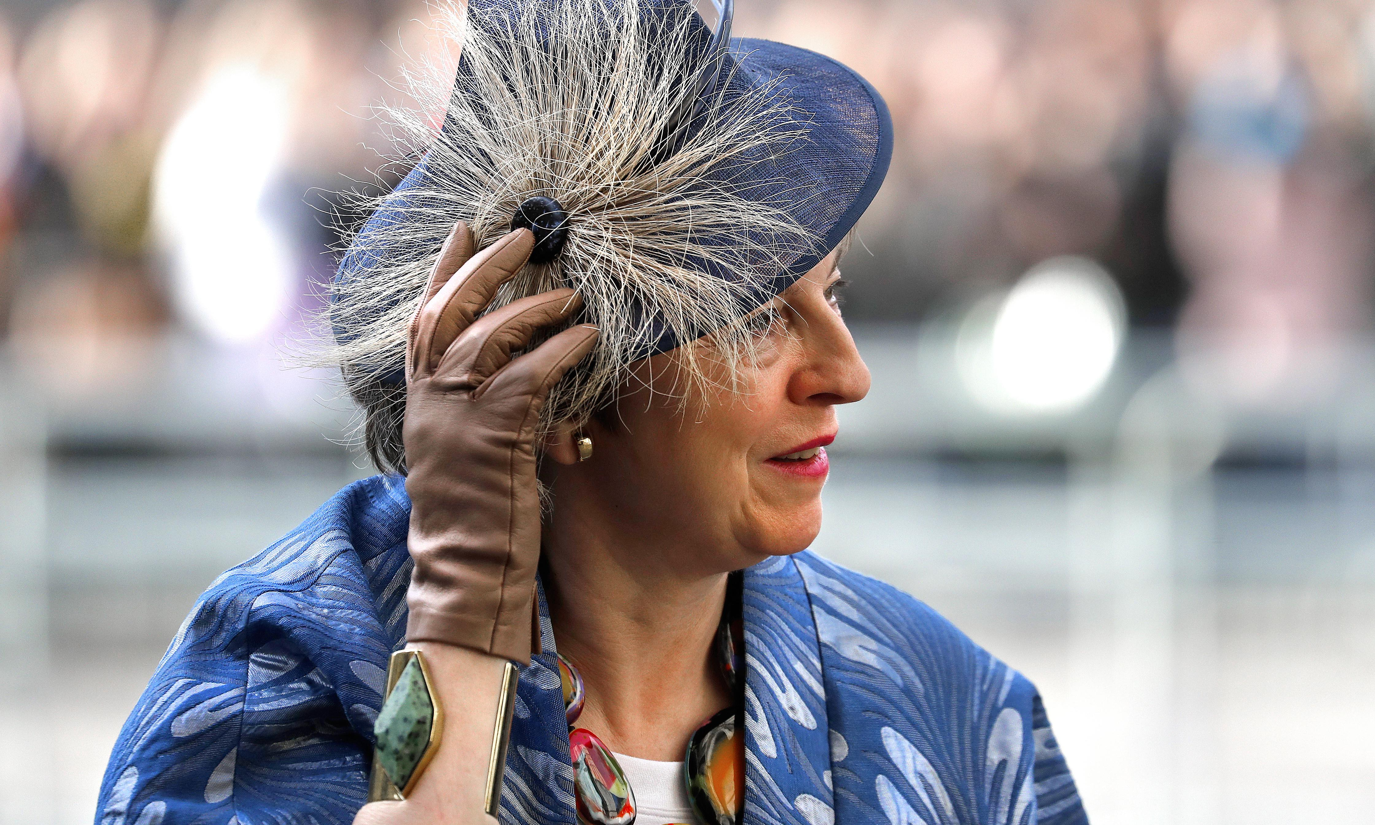 The gloves are on: Theresa May's latest fashion statement