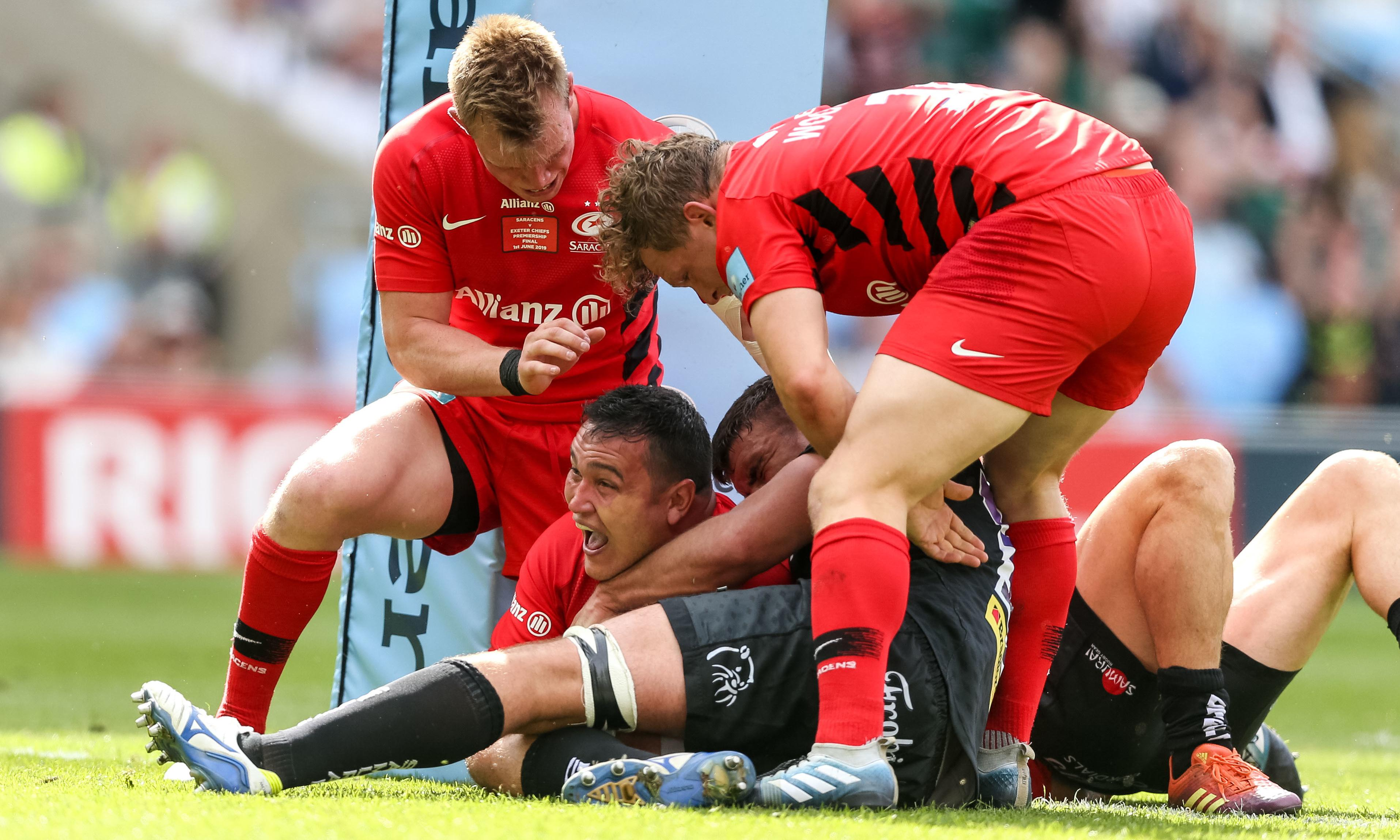 Saracens show off power and glorious weapons of Premiership at its best
