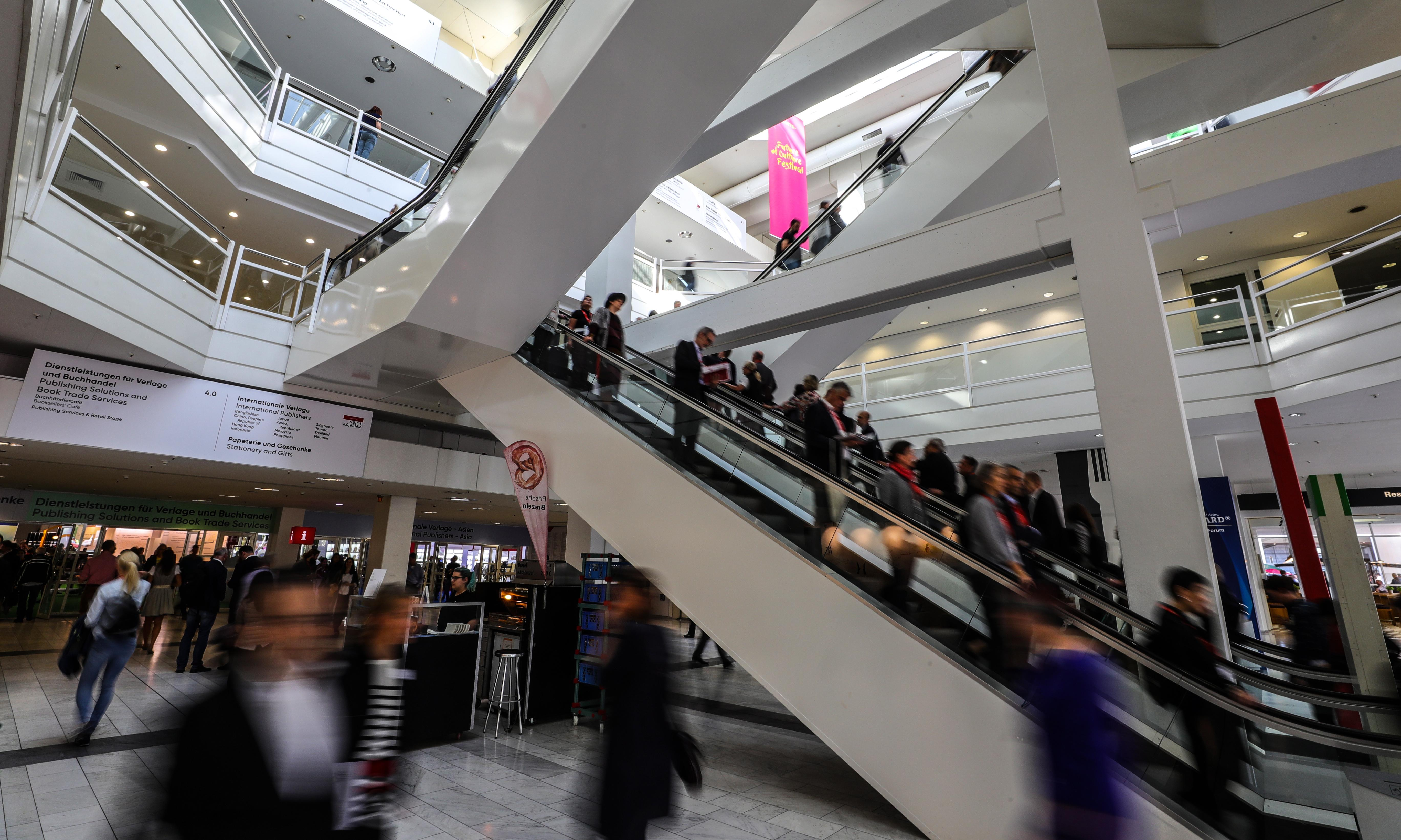 'Up-lit' gives hope to publishers at Frankfurt book fair