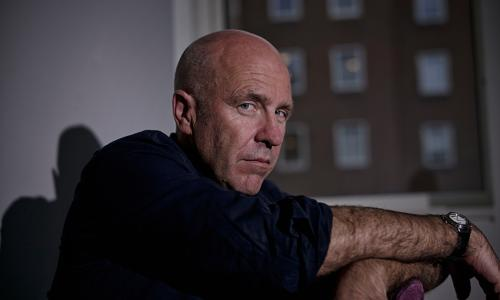 Richard Flanagan - Australian novelist and winner of the 2014 Man Booker Prize for fiction. Photo by Sarah Lee For ARTS