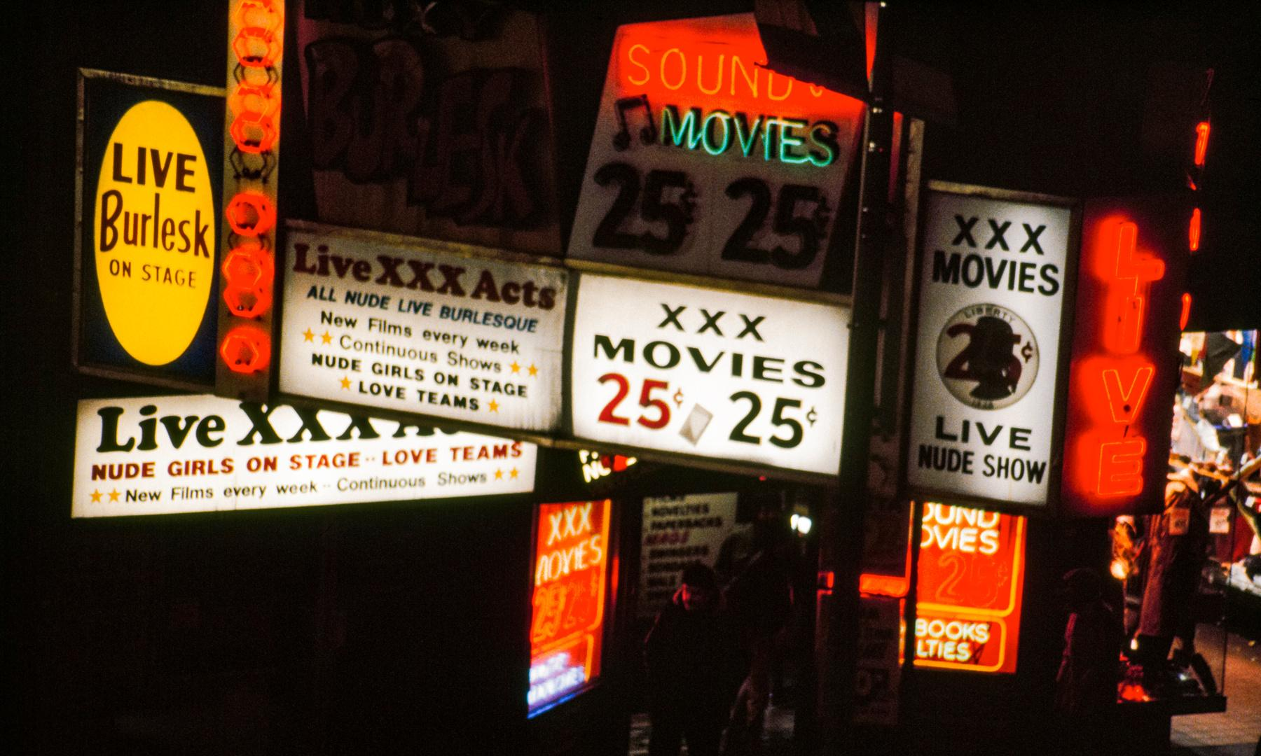 Sleaze, hustlers and strippers: Jane Dickson's lost Times Square