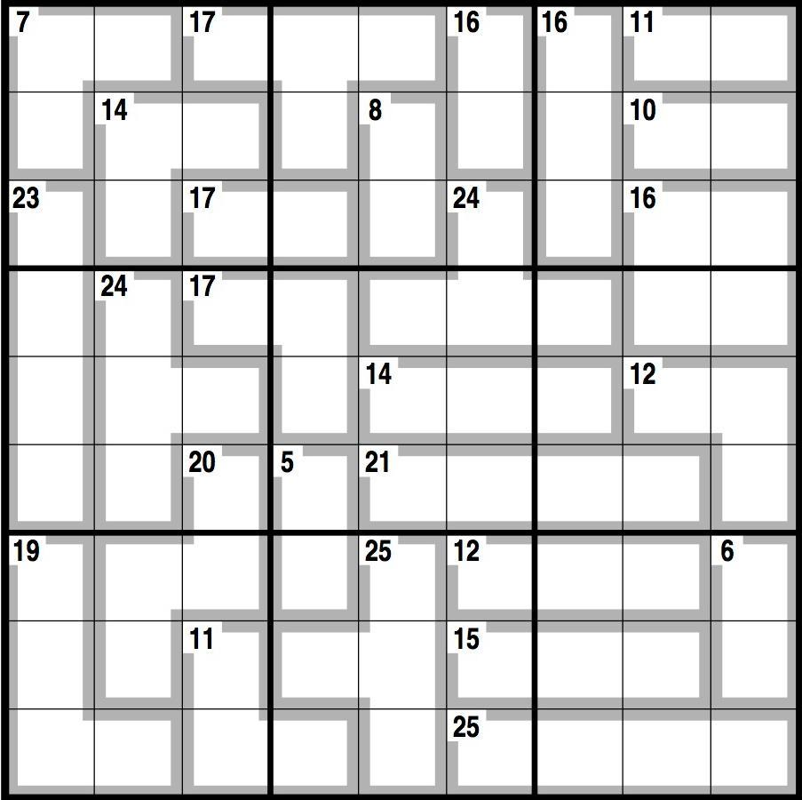 Observer killer sudoku