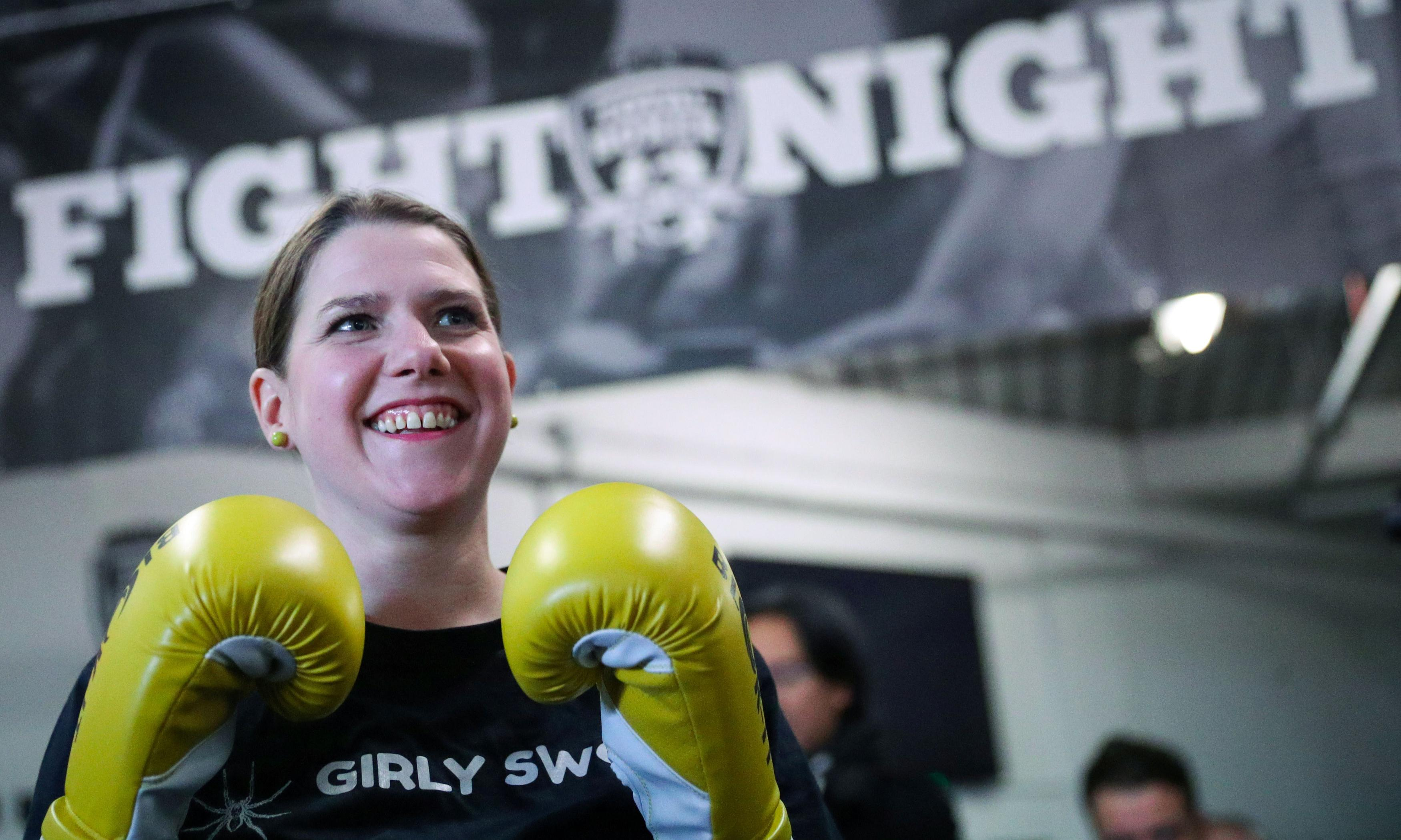 'Girly swot' Jo Swinson fights for more than a ringside seat in ITV debates