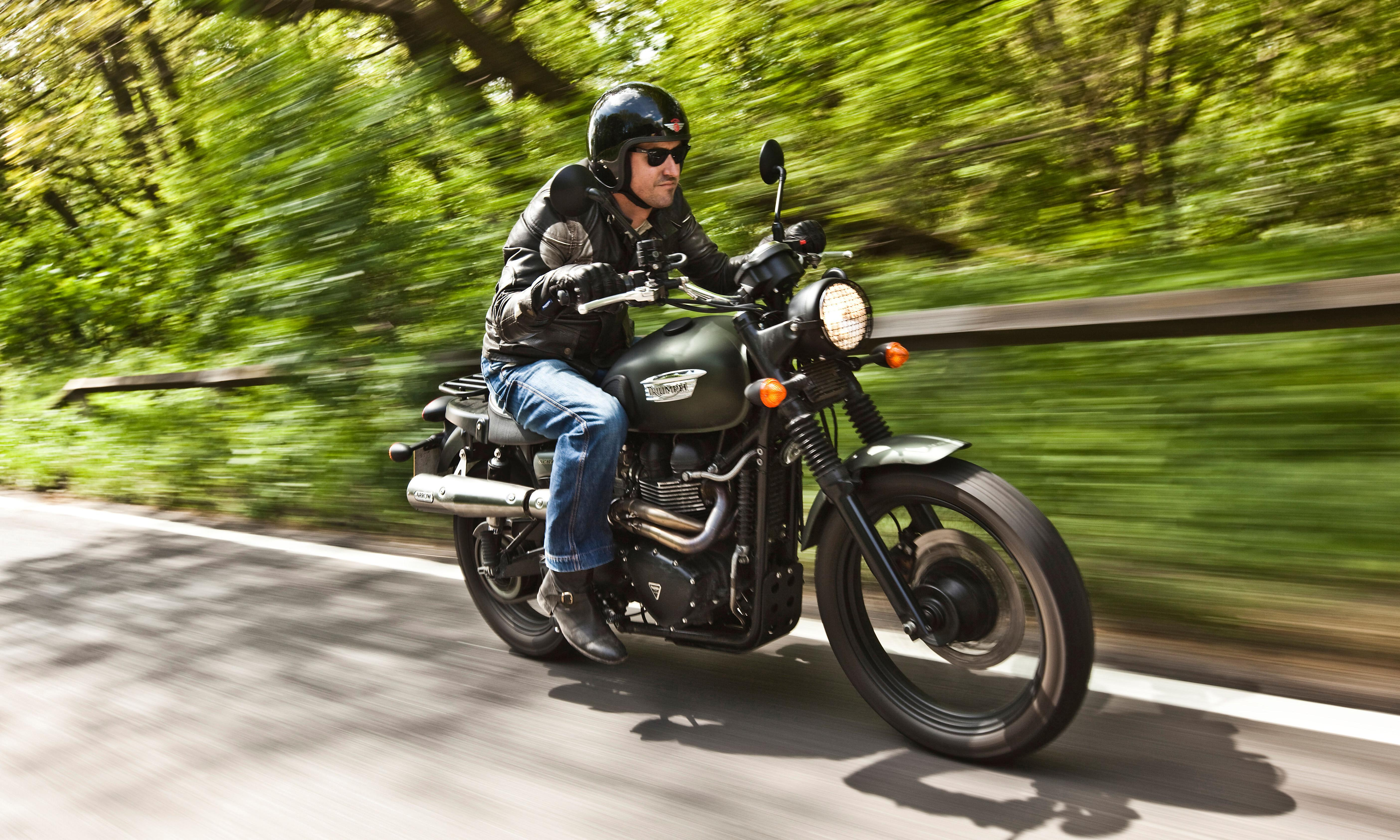 I thought bikers were noisy and angry – until I had a midlife crisis and became one