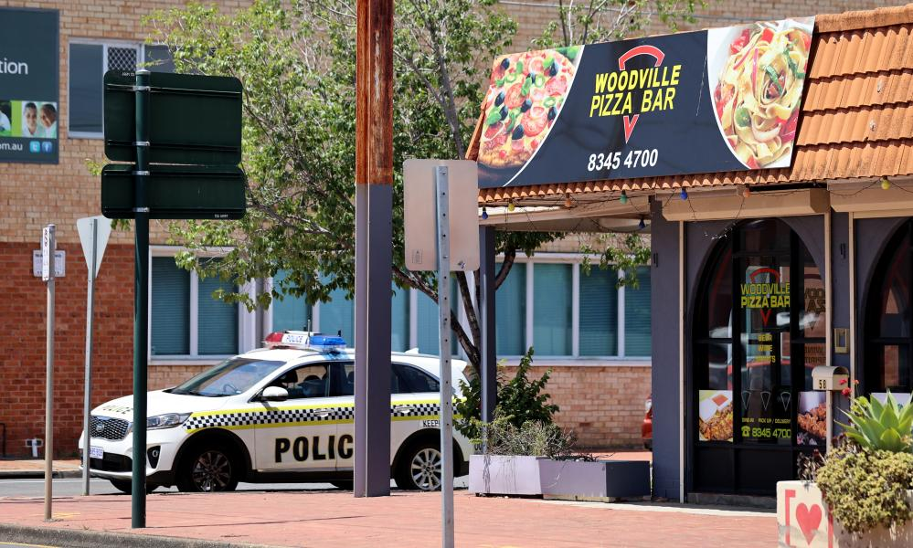 The Woodville Pizza Bar in Adelaide, South Australia.