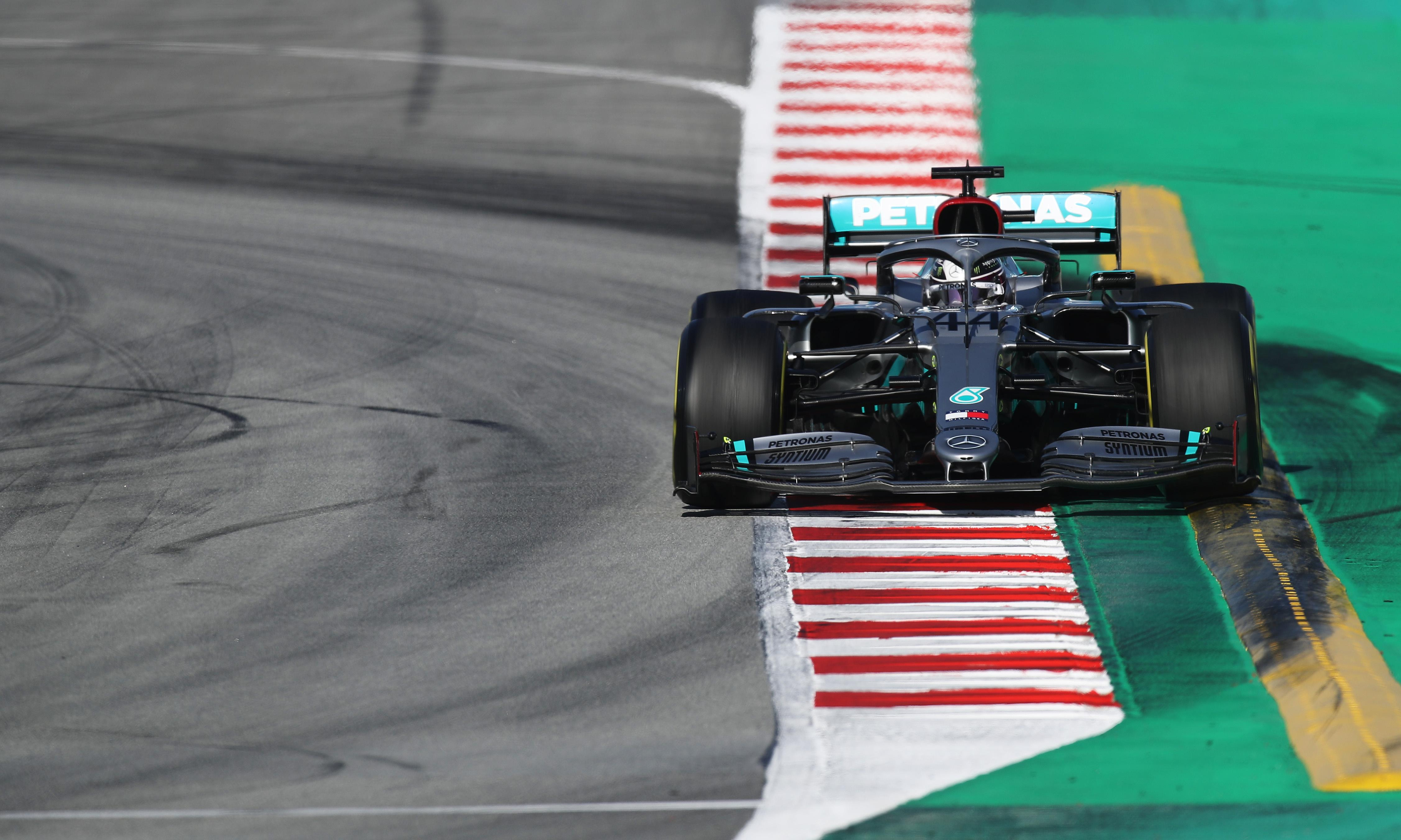 Bottas and Hamilton quickest as Mercedes stay ahead of the field in F1 testing