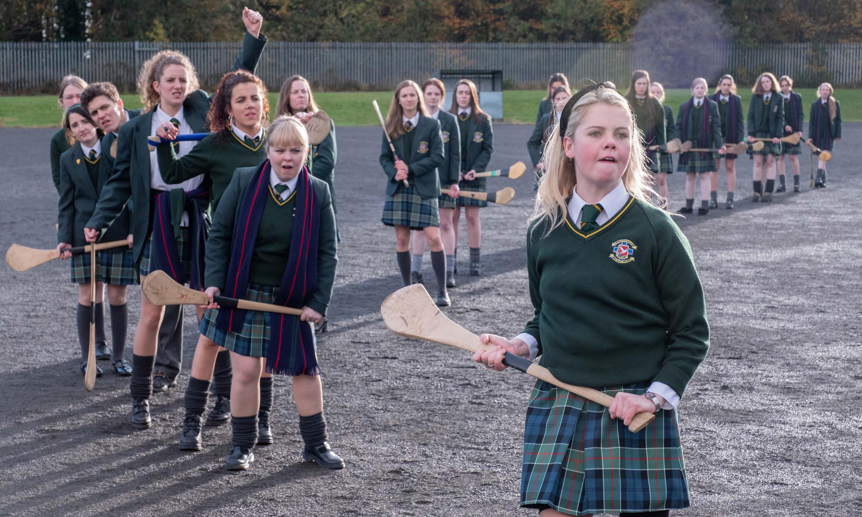 'It's good-humoured': Derry Girls blackboard moves to Ulster Museum