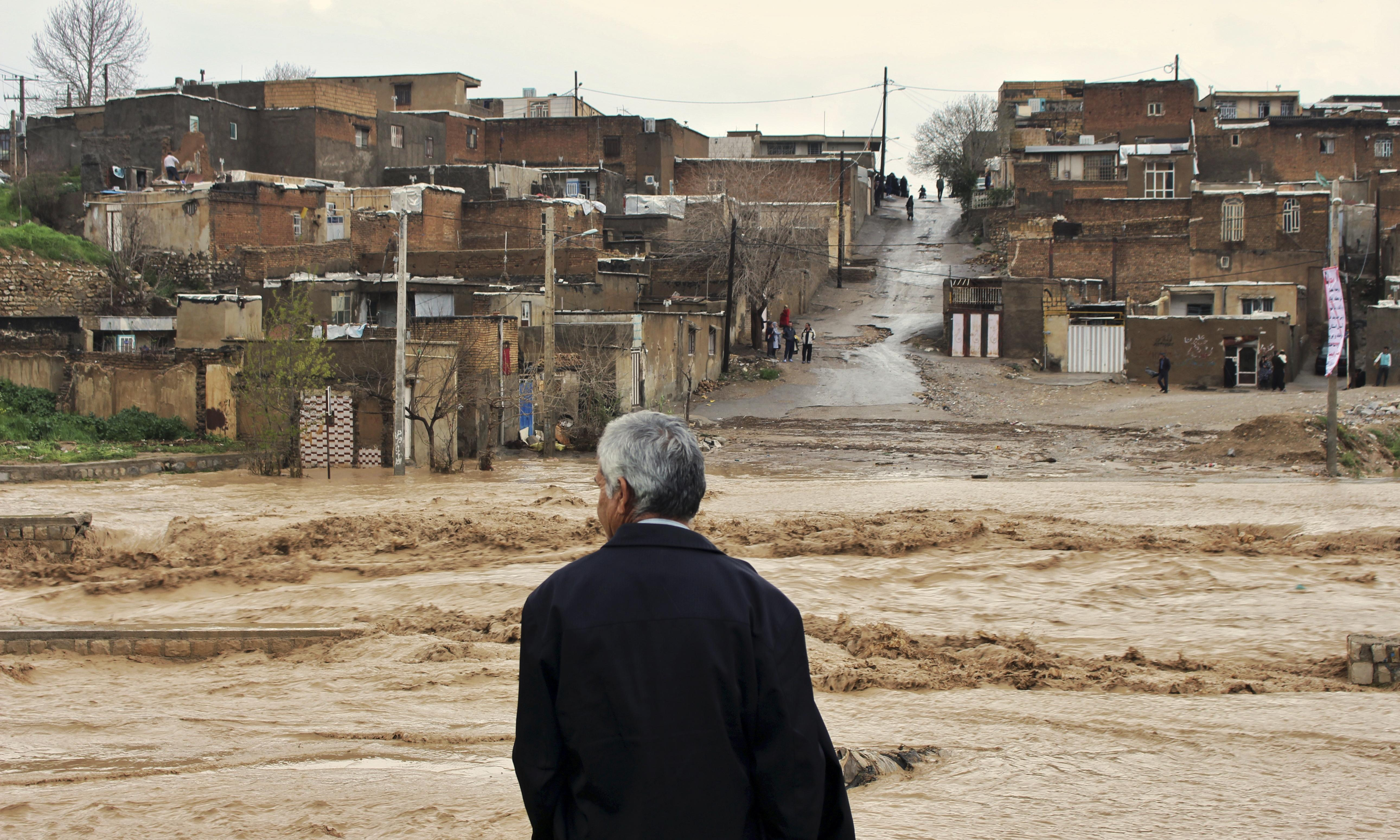 Six more towns evacuated in Iran with more floods expected