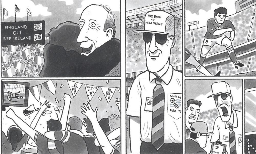 David Squires on Jack Charlton.