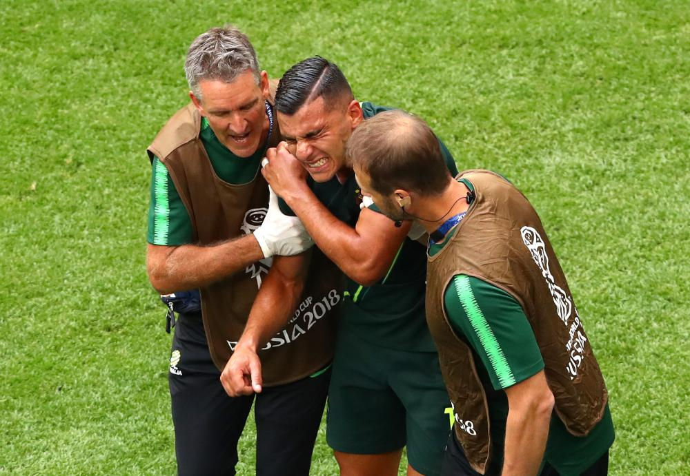 848707b42ea Denmark 1-1 Australia  World Cup 2018 – as it happened - footytube