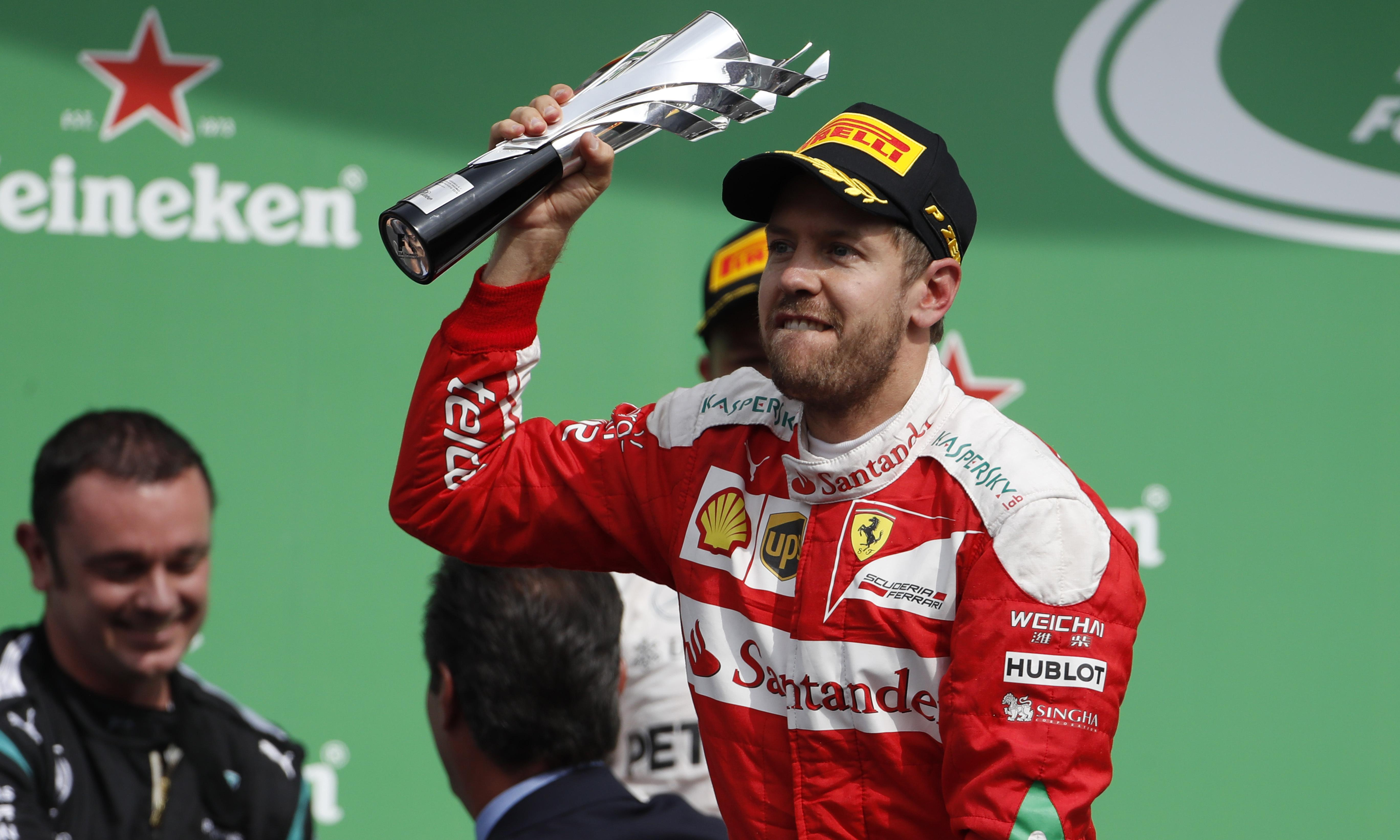 Sebastian Vettel escapes punishment for expletive-laden F1 Mexican GP outburst