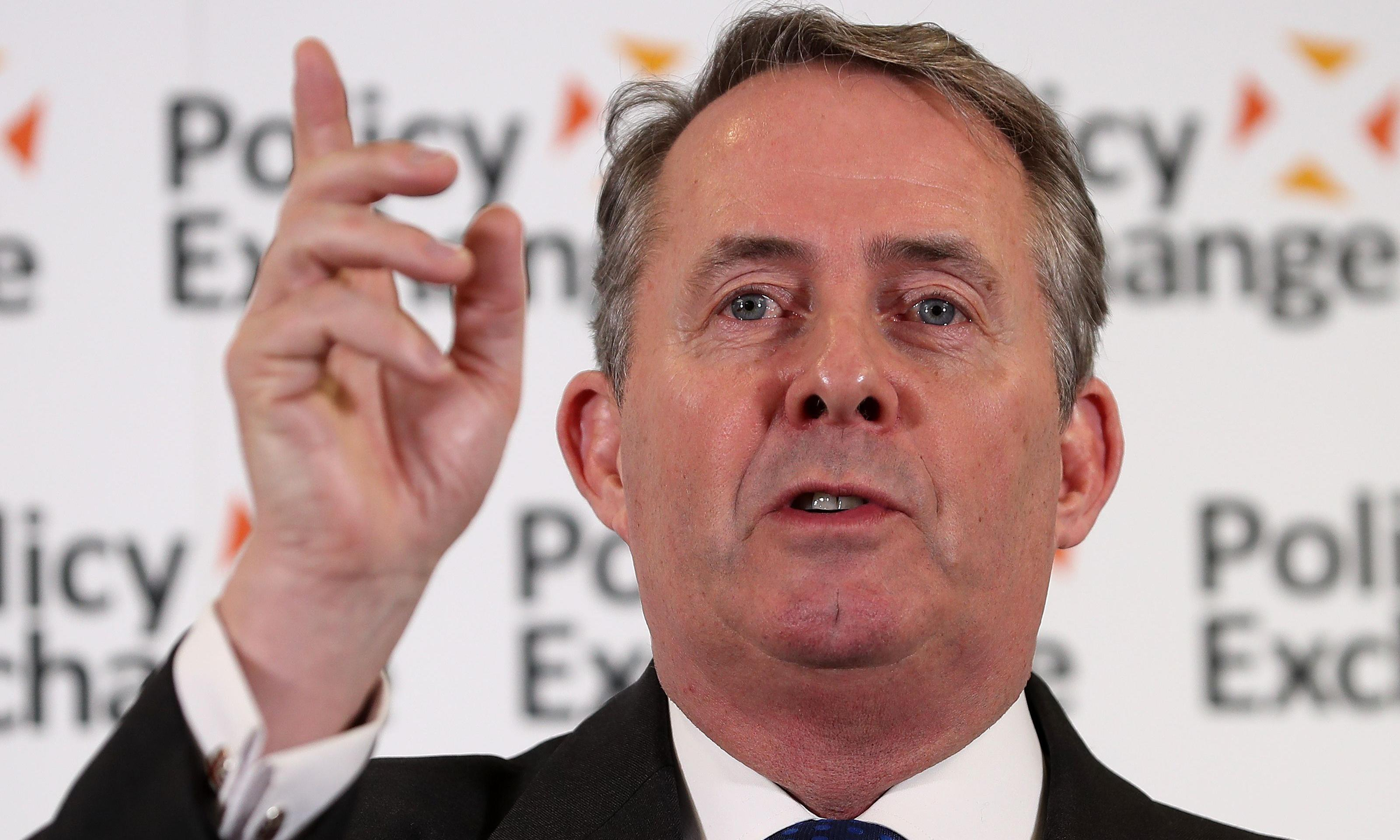 We cannot allow Liam Fox's post-Brexit trade plans to go unscrutinised