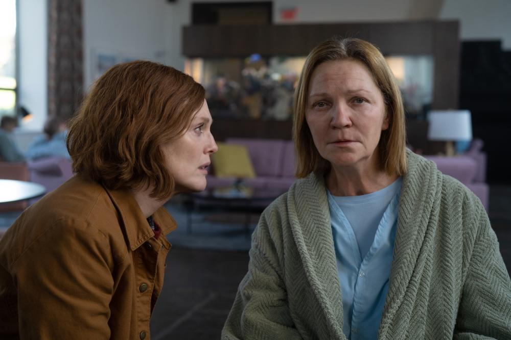 Pure fear … Allen with Julianne Moore in Lisey's Story.