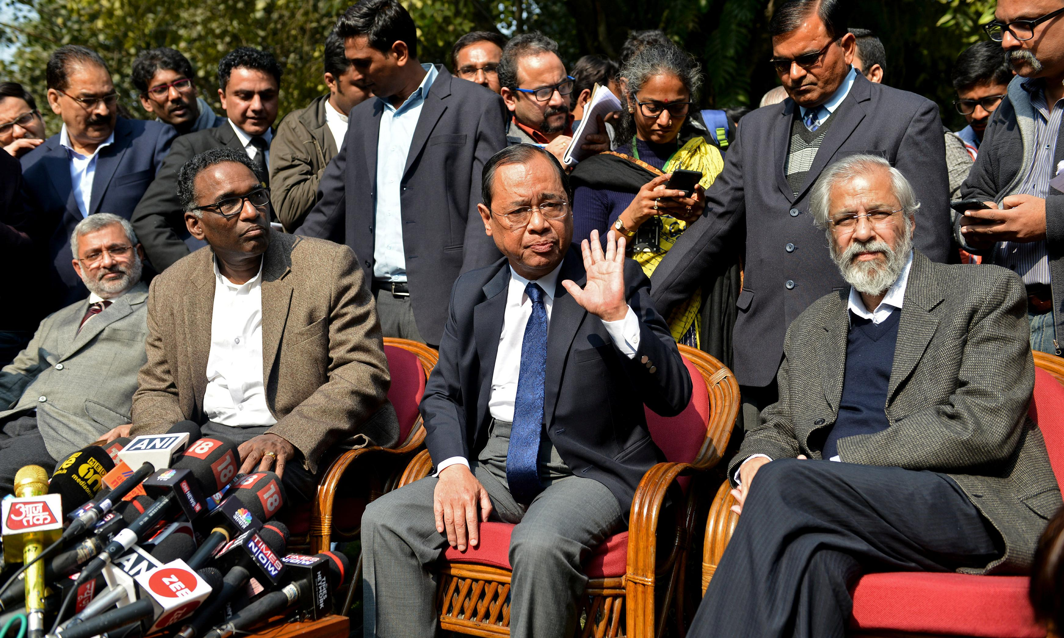 India's top judges issue unprecedented warning over integrity of supreme court