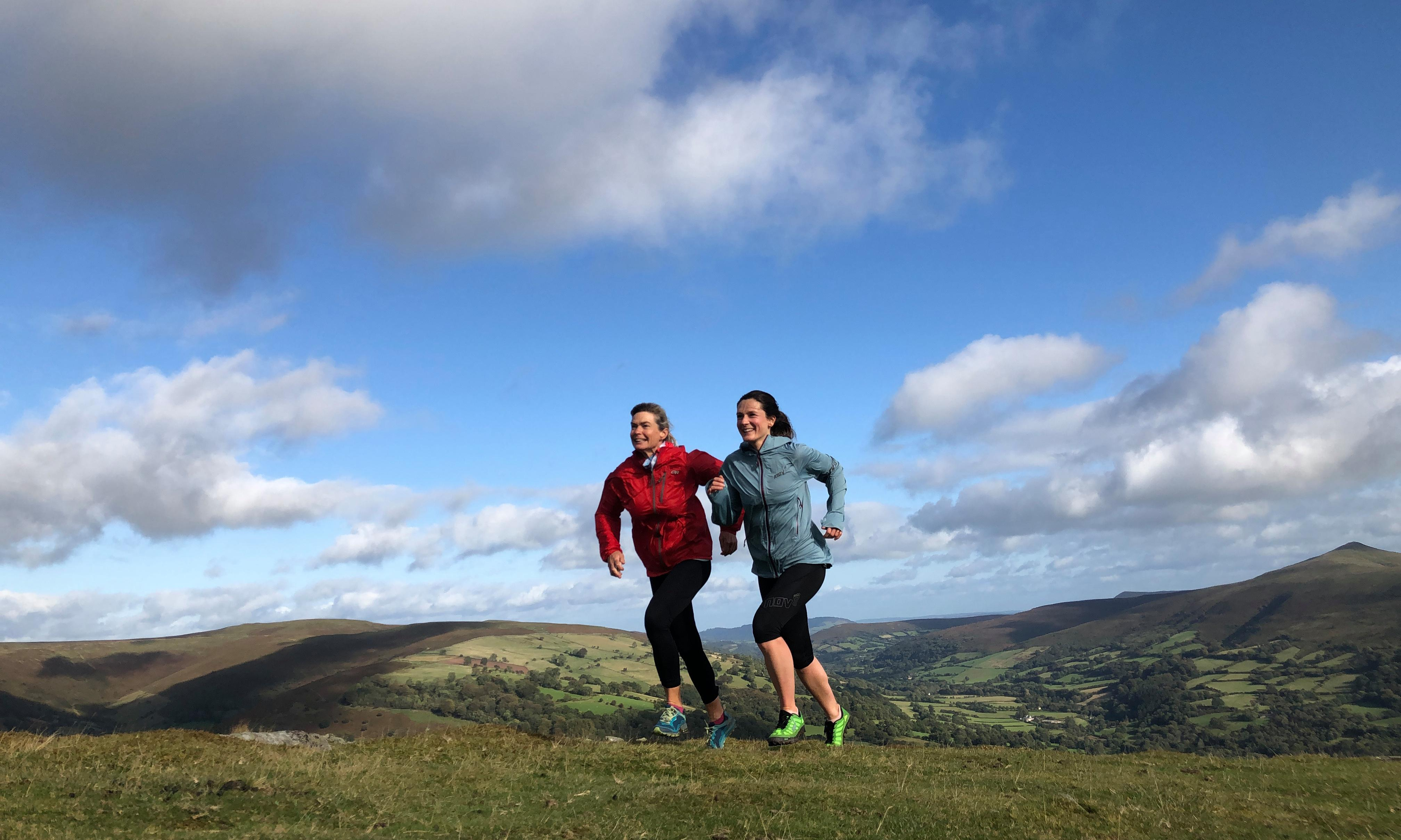 How an all-women fell-running course in Wales helped me let off the brakes