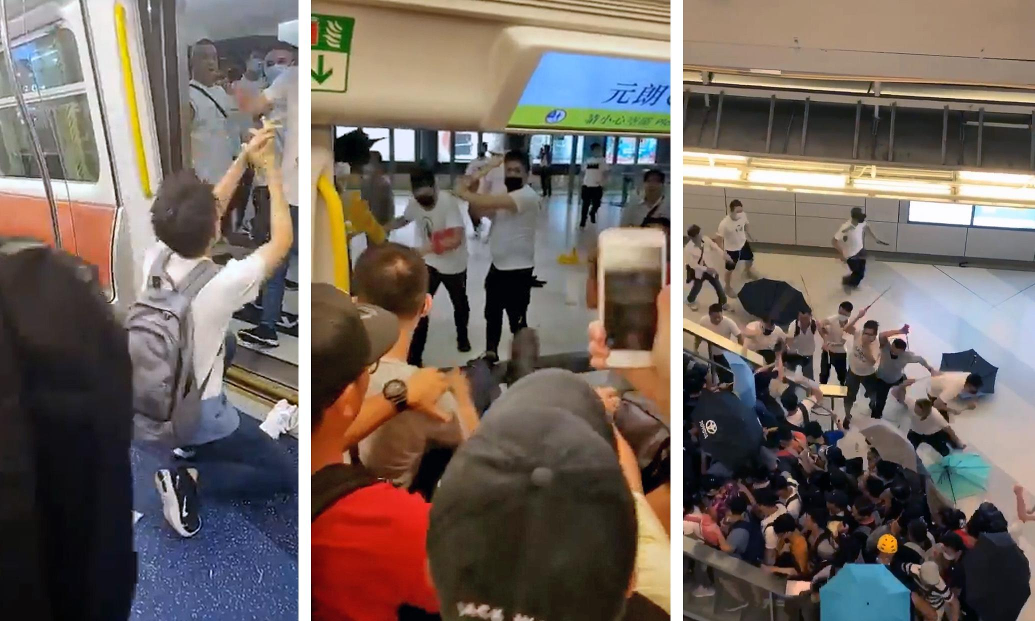 'Where were the police?' Hong Kong outcry after masked thugs launch attack
