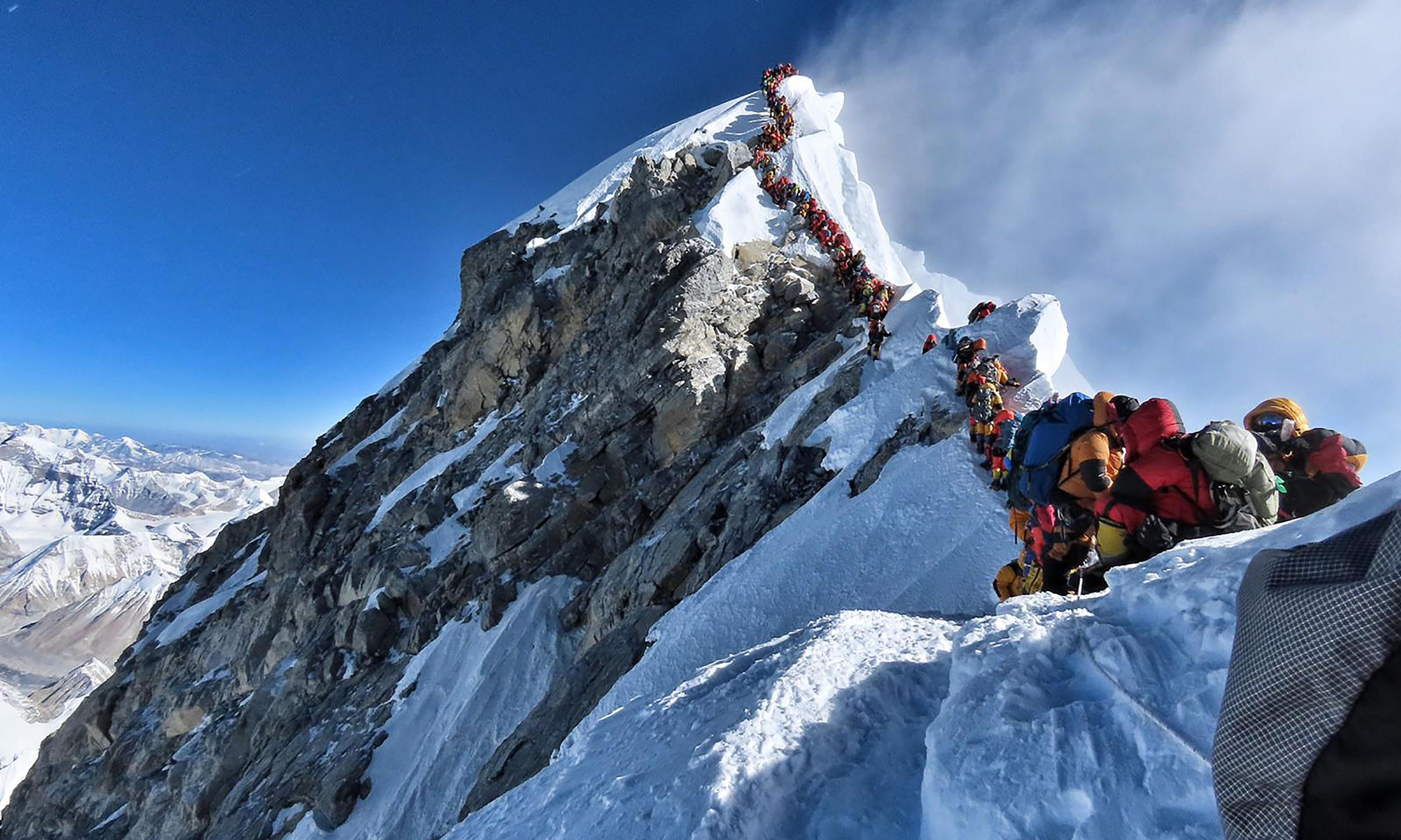 Why I won't be joining the queue at the top of Everest