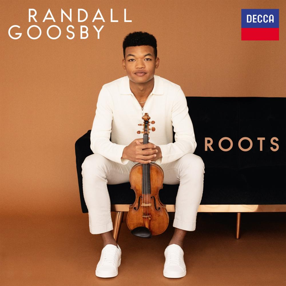 Randall Goosby: Roots album cover.