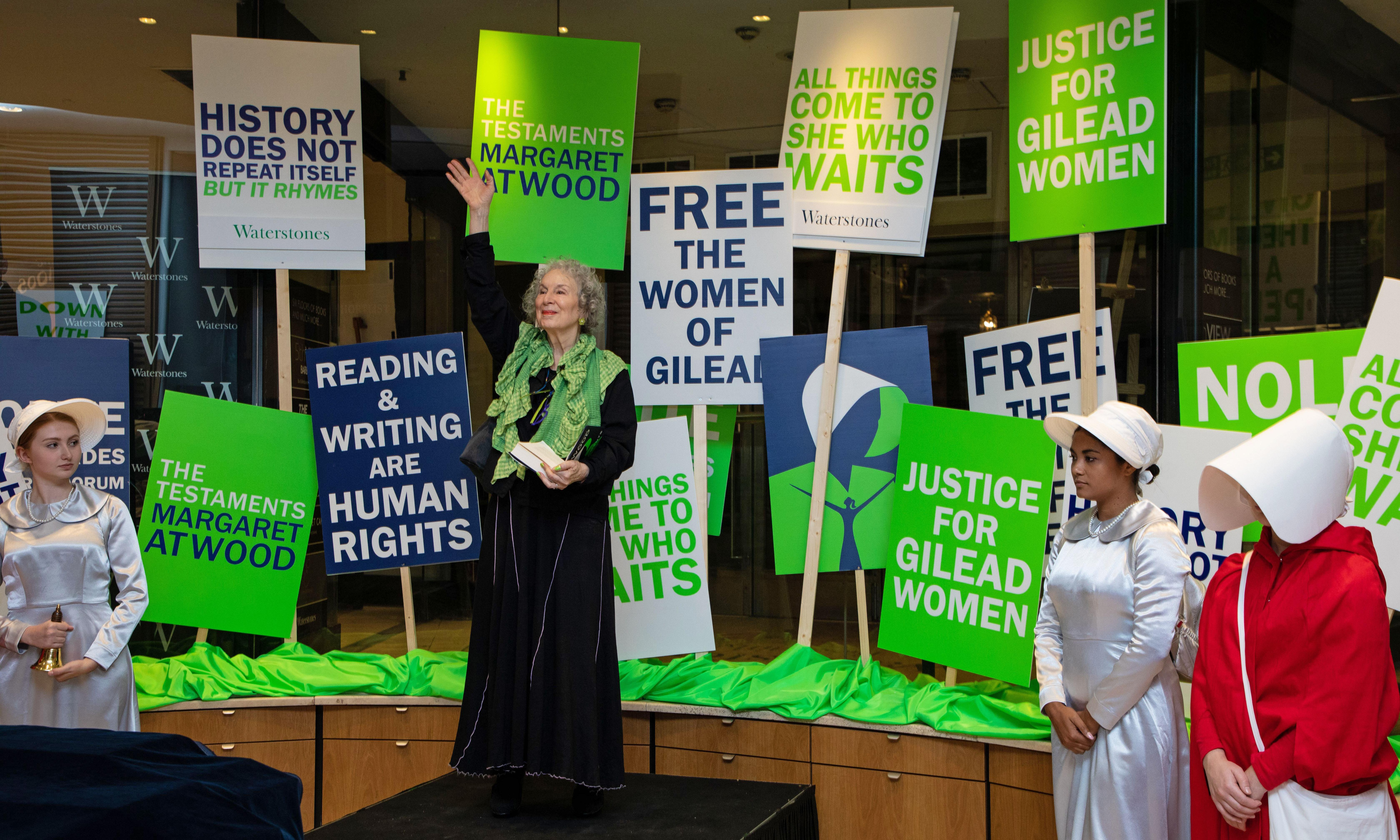 Margaret Atwood's new work is full of feminist hope. But don't dumb it down