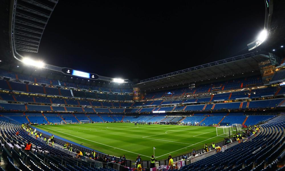 The Santiago Bernabéu.
