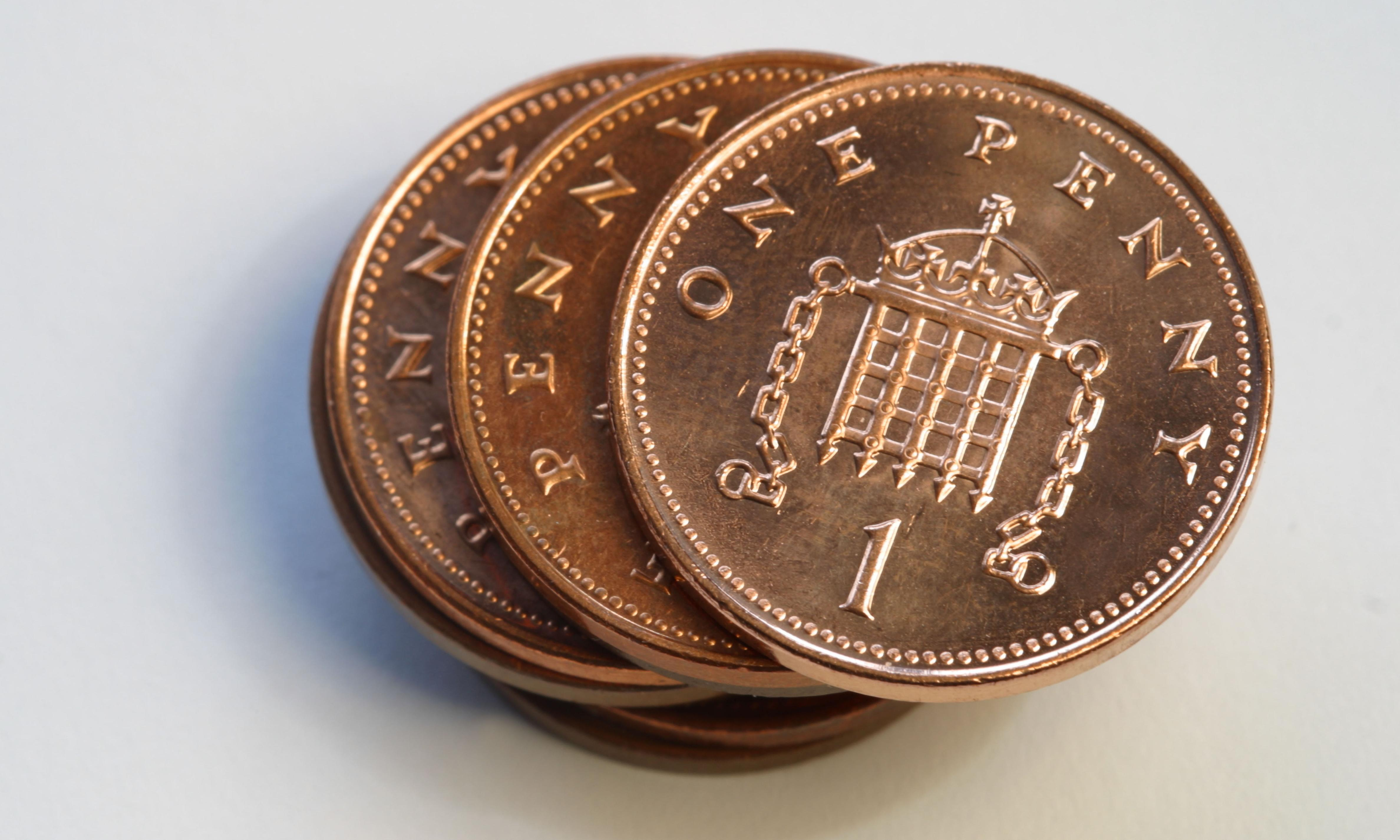 Royal Mint makes no 1p or 2p coins for first time in decades