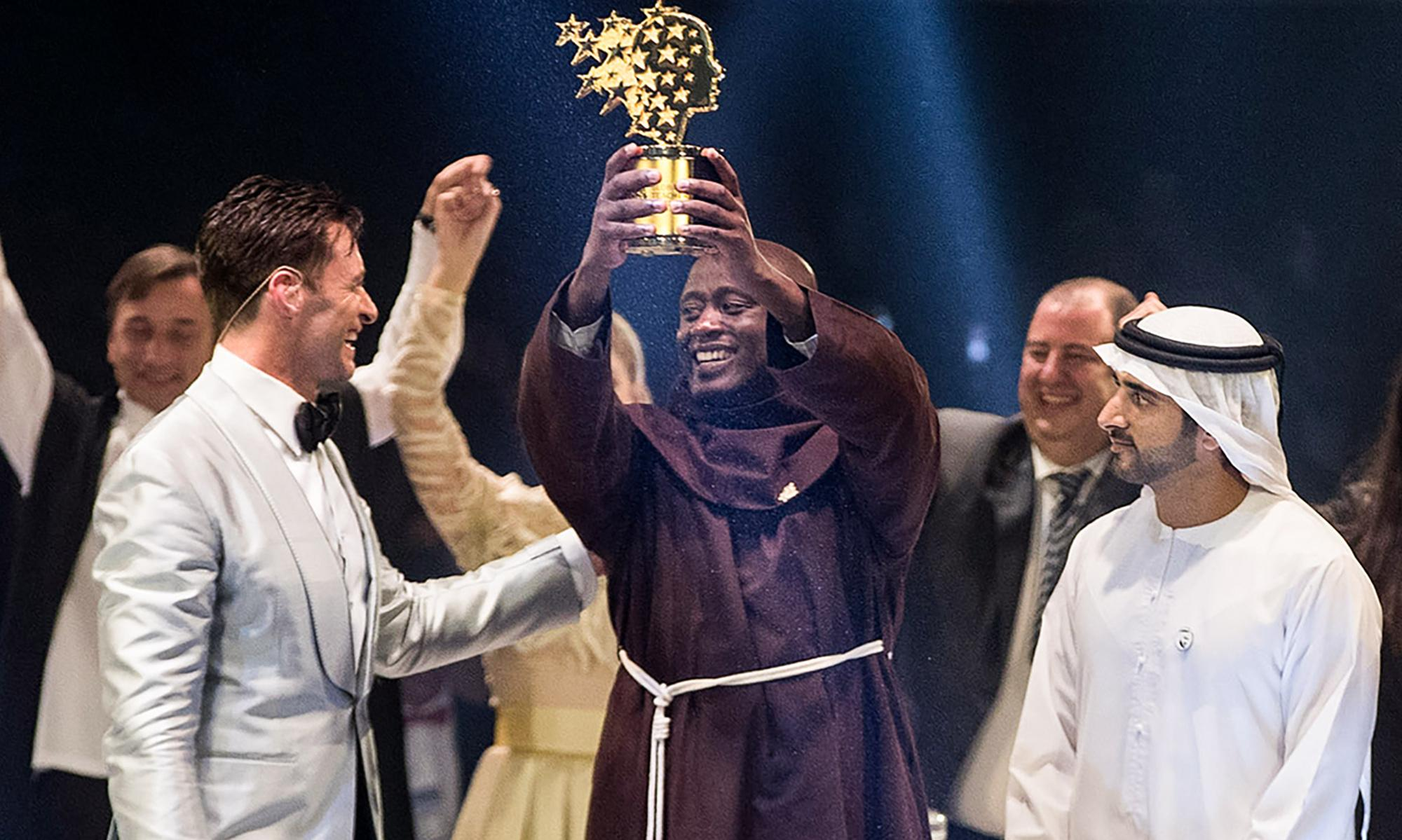 Kenyan science teacher Peter Tabichi wins $1m global award