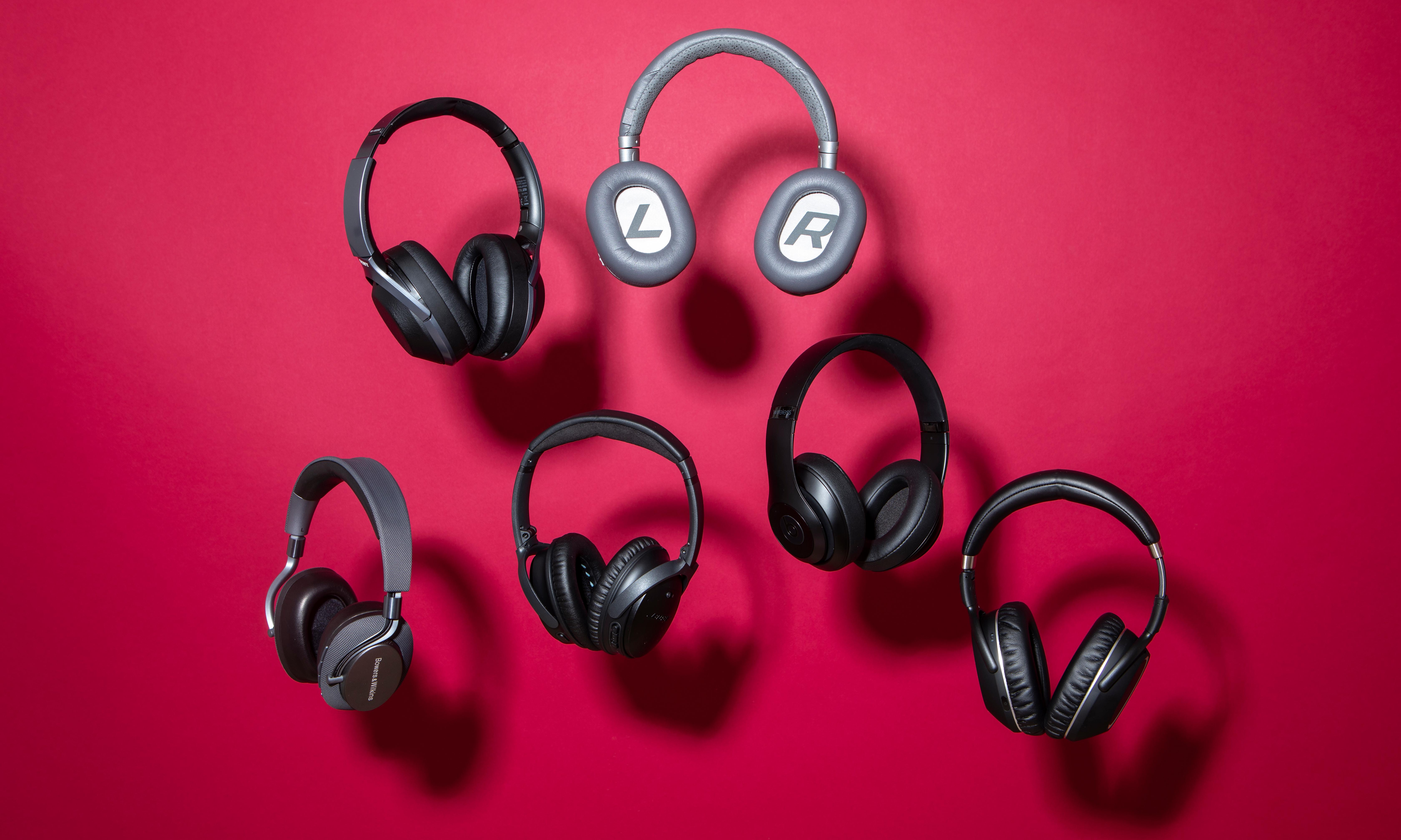 Hushed tones: six of the best noise-cancelling headphones